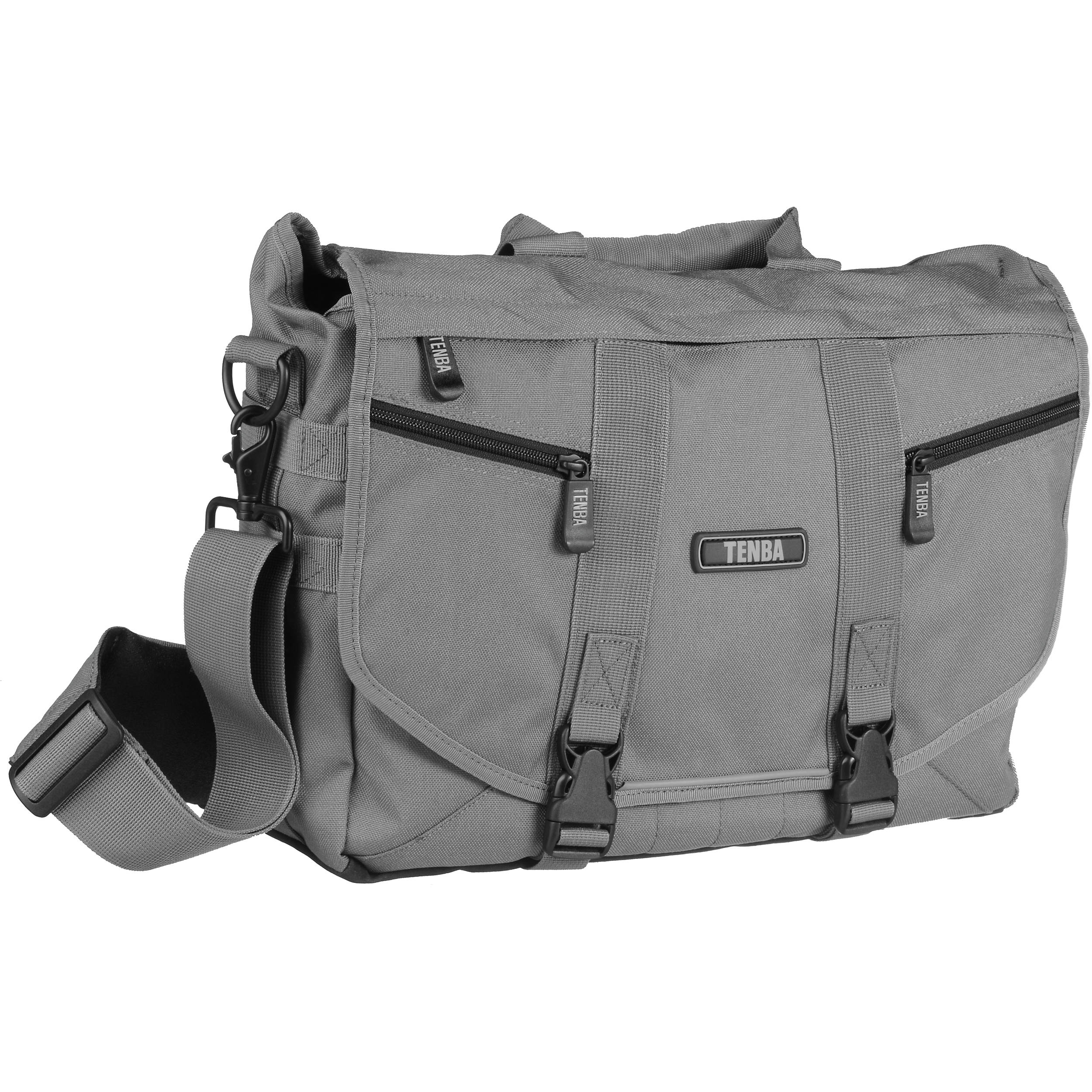 Tenba Messenger: Large Photo/Laptop Bag (Platinum) 638-238 B&H