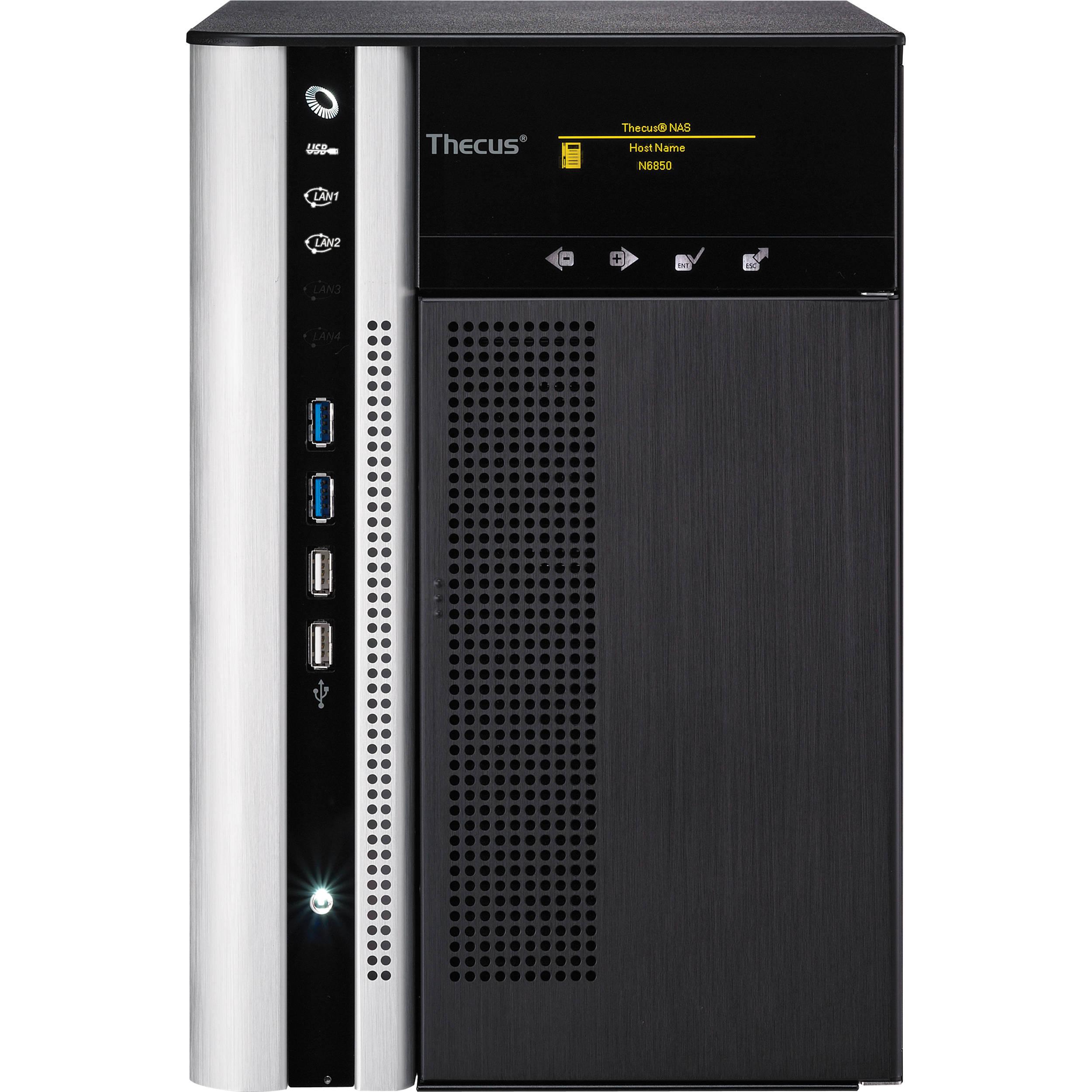 Thecus N6850 TopTower NAS Server Driver