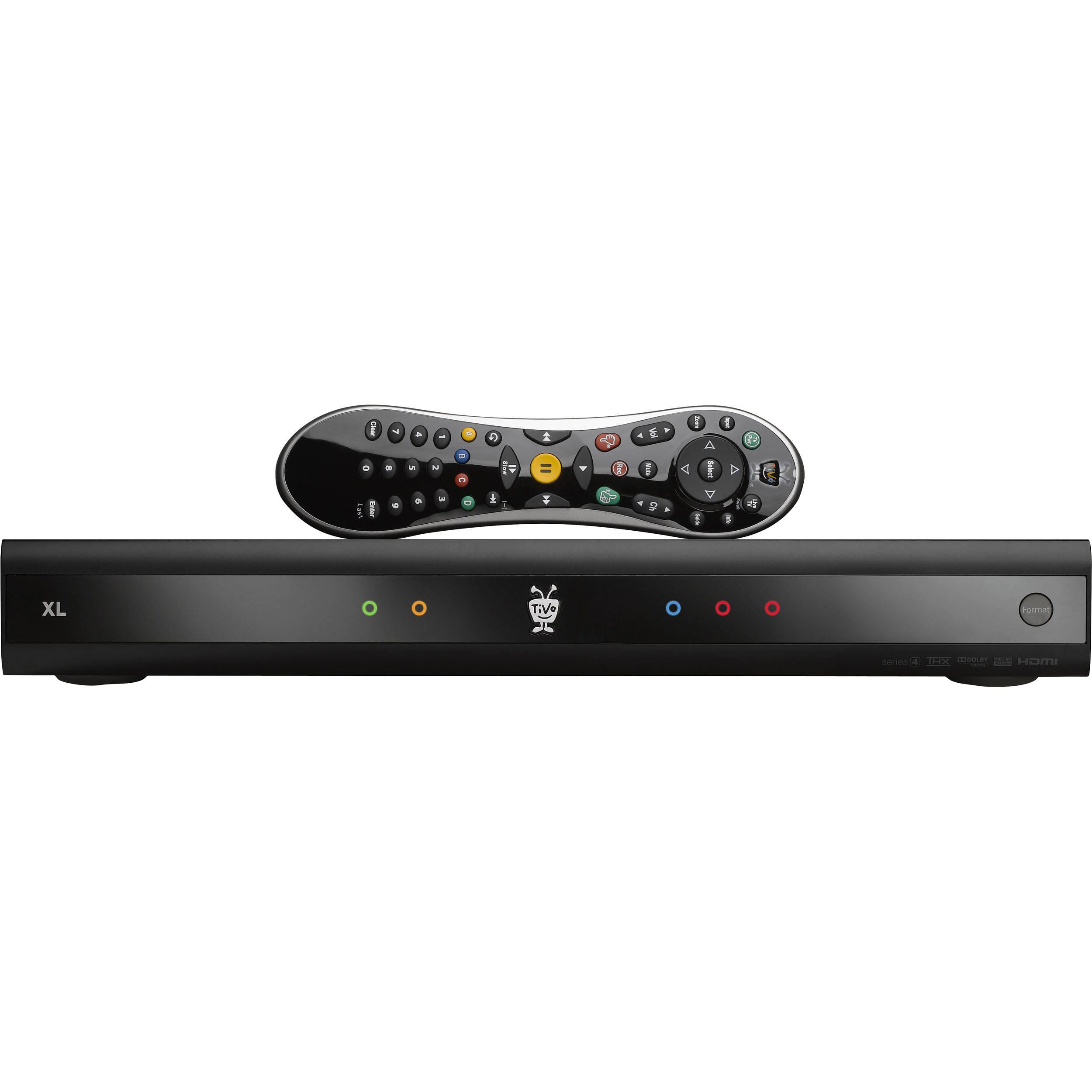 Tivo Premiere Xl Tcd748000 Bh Photo Video Manage Att U Verse Dvr Online