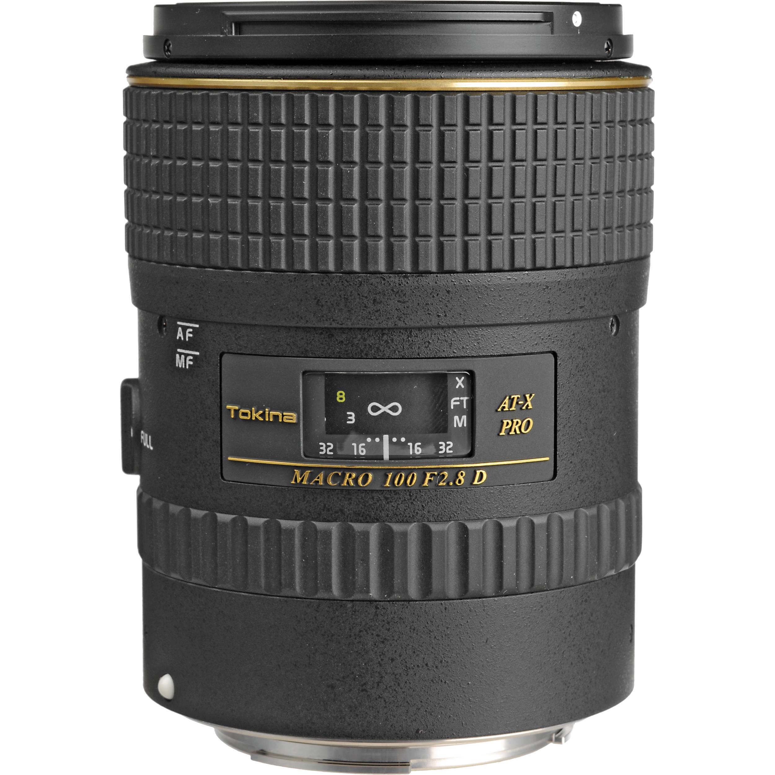 Tokina 100mm f/2.8 AT-X M100 AF Pro D Macro ATXAFM100PROC B&H