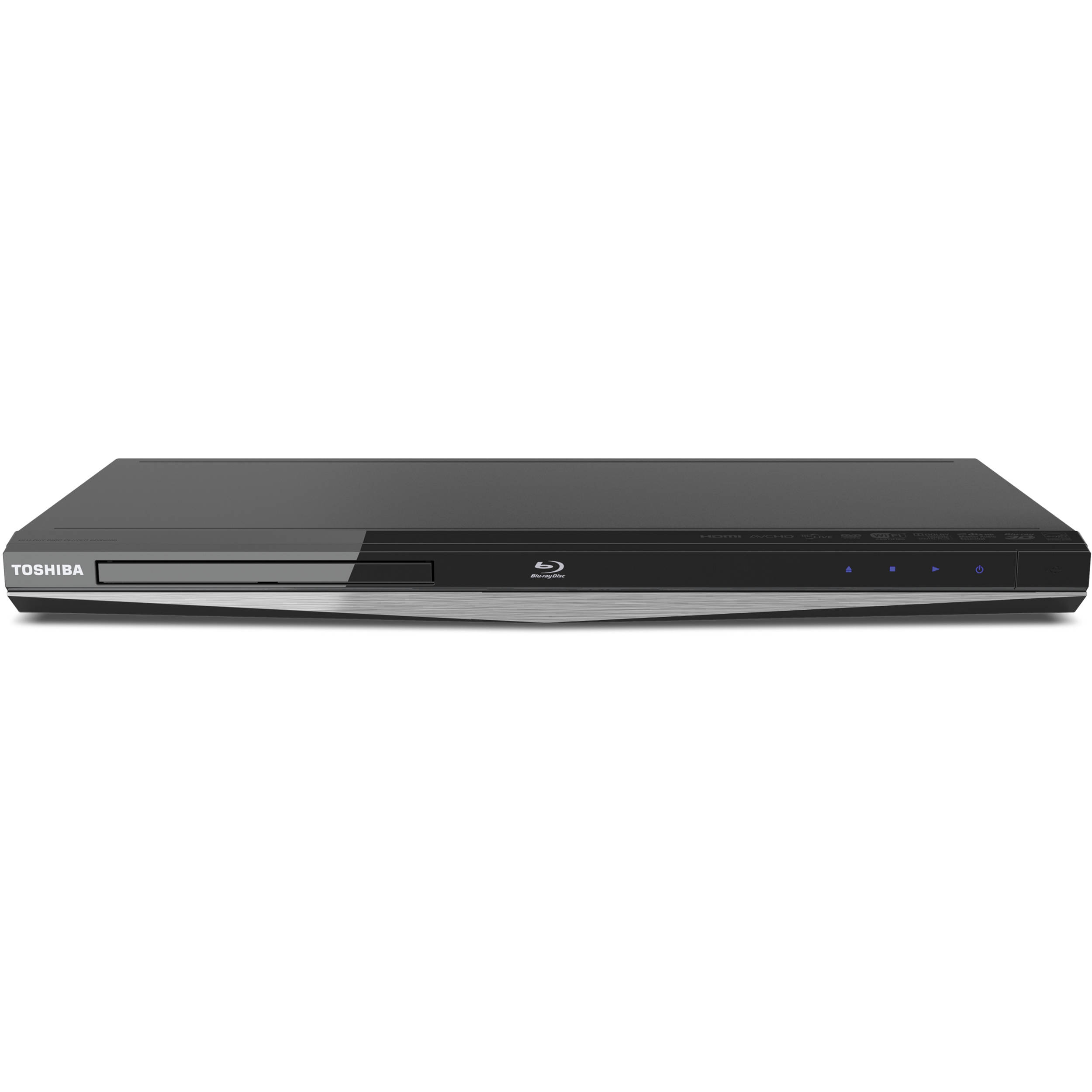 Toshiba BDX5300 3D Blu-ray Player With Built-in Wi-Fi BDX5300