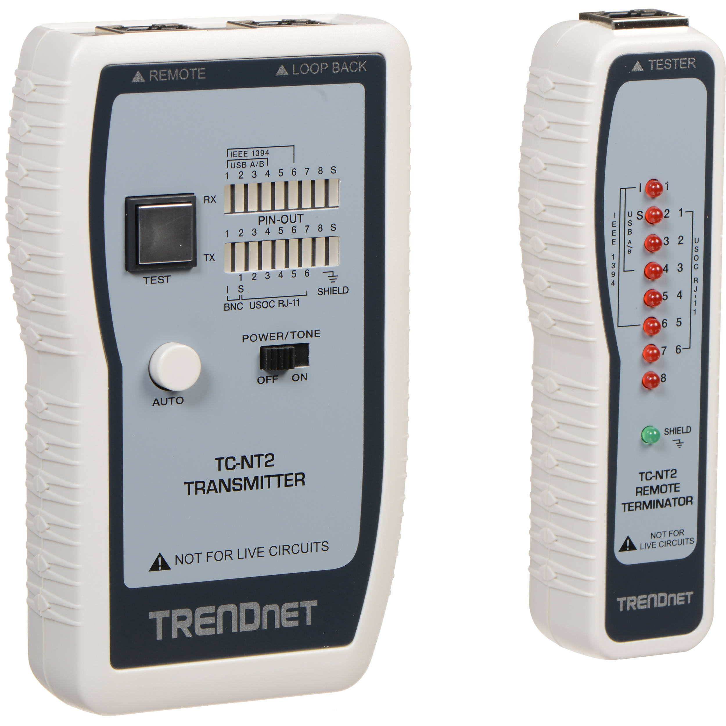 Network Cable Tester : Trendnet tc nt network cable tester b h photo video