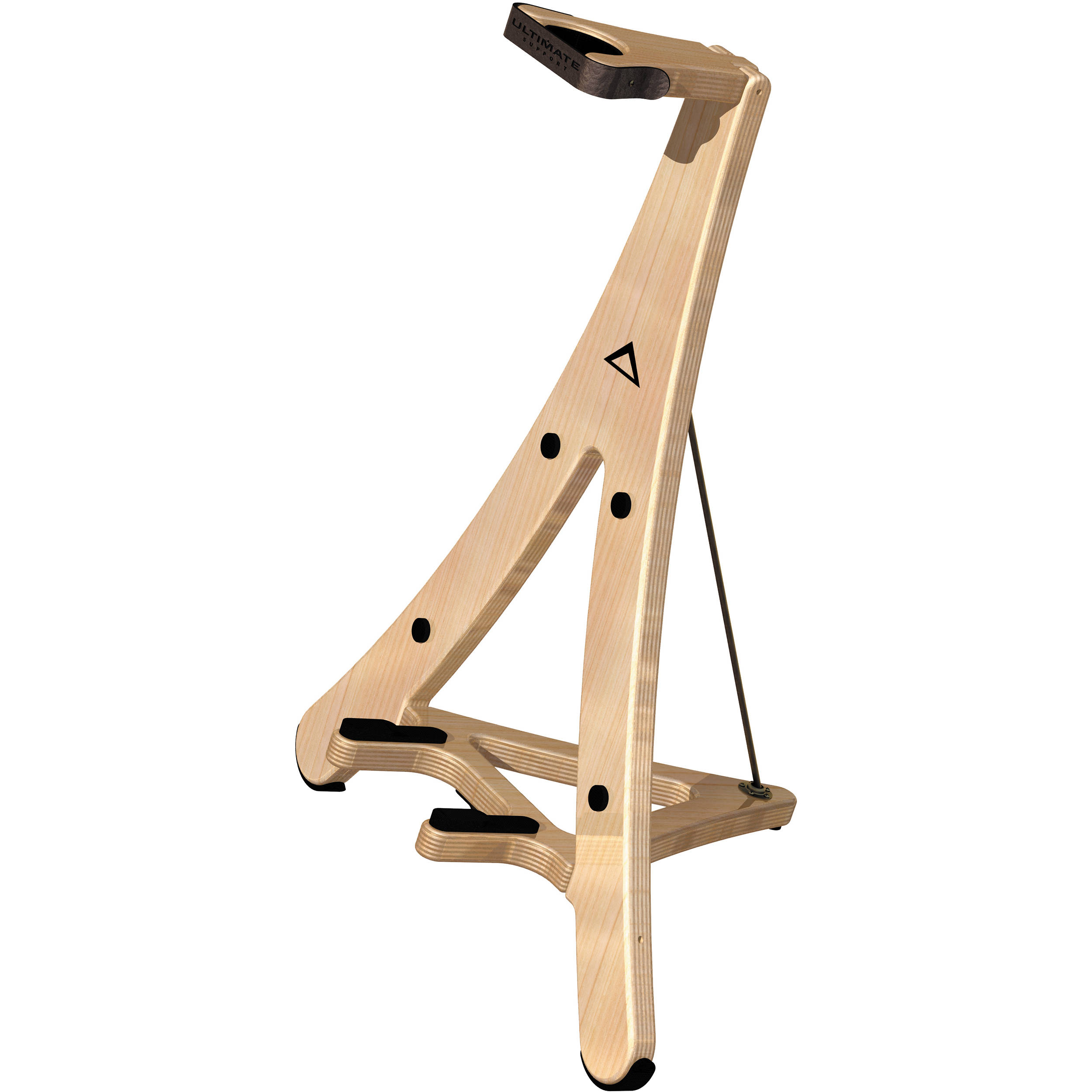 ultimate support axw 2 cradle style wooden guitar stand 17226. Black Bedroom Furniture Sets. Home Design Ideas