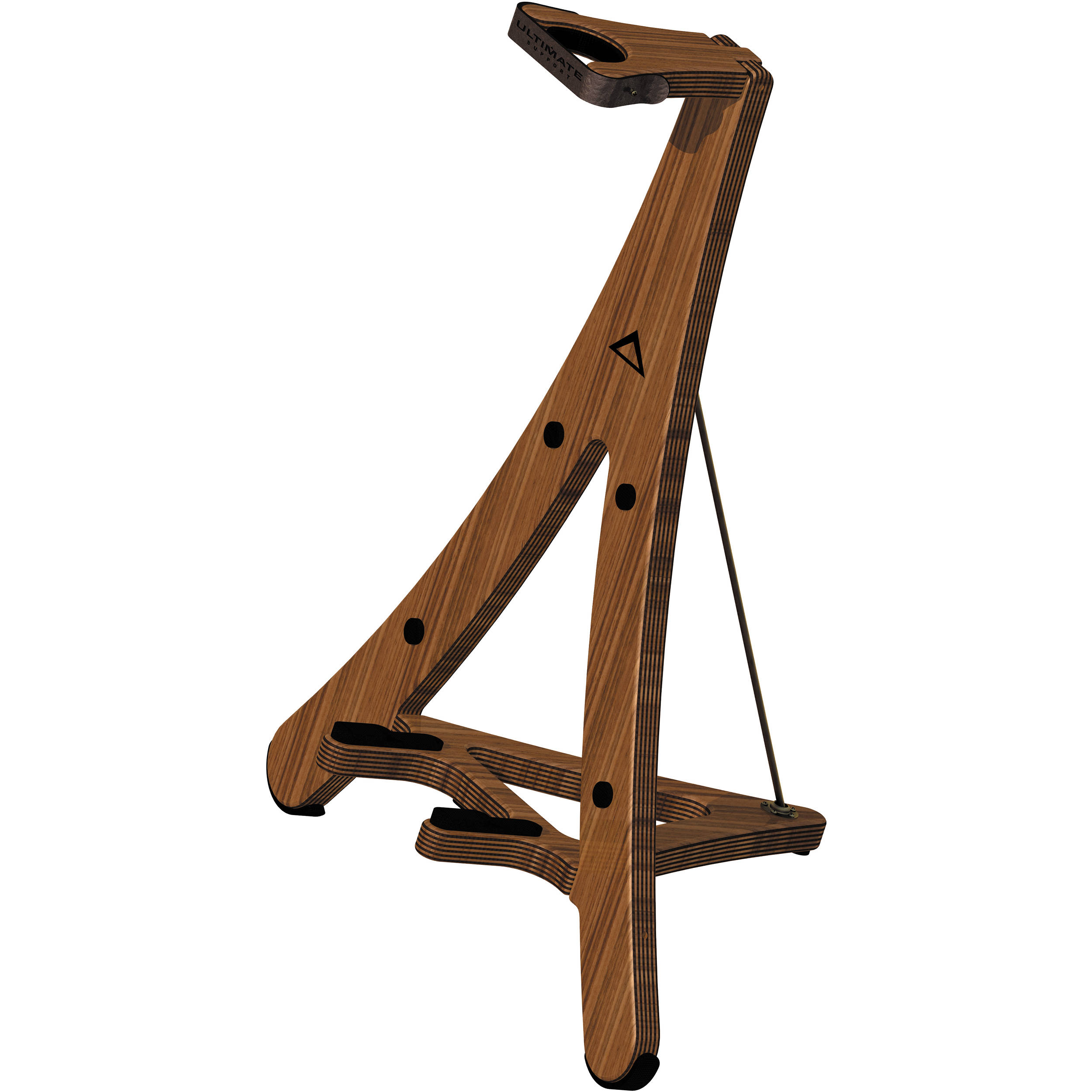 Ultimate support axw cradle style wooden guitar stand