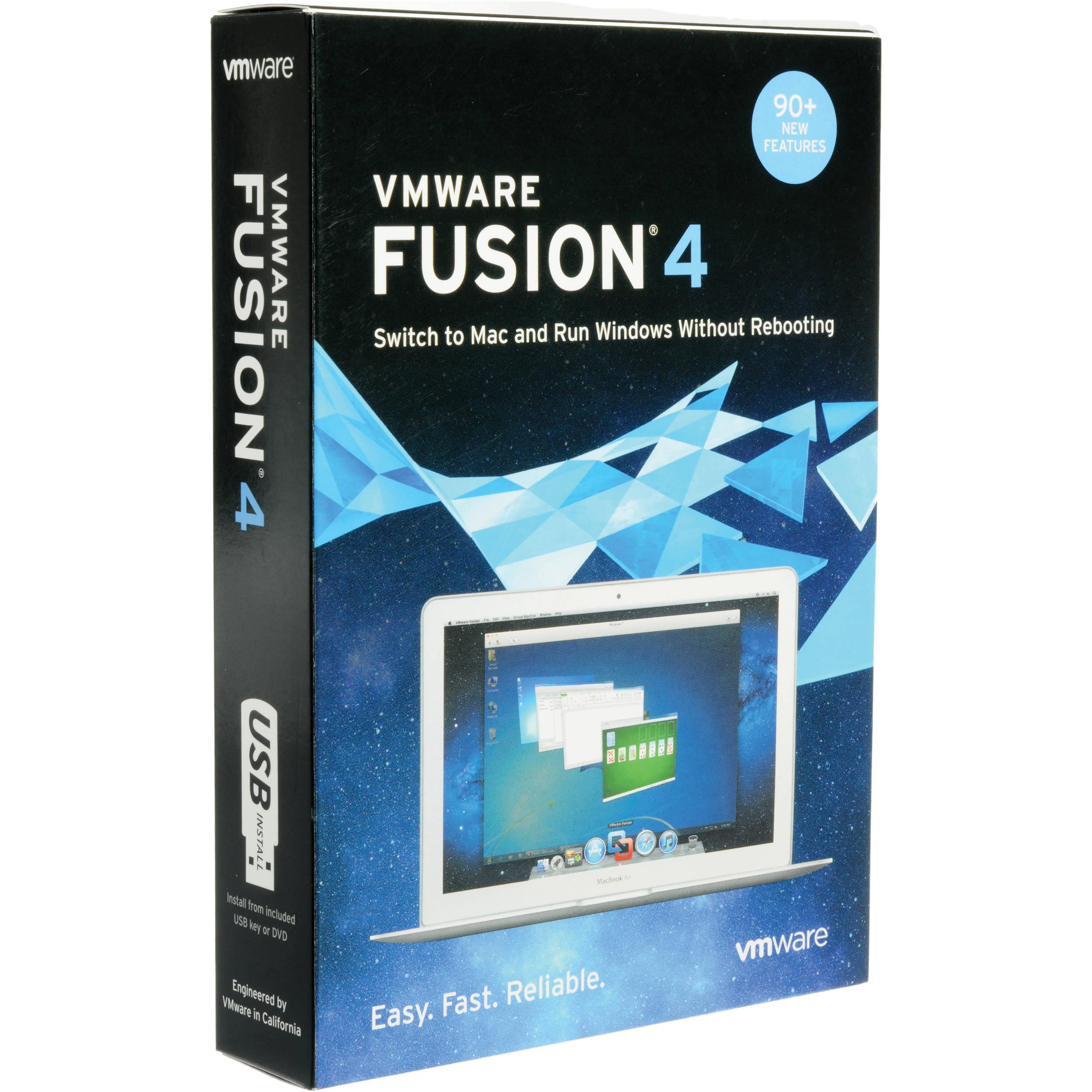 os x vmware fusion