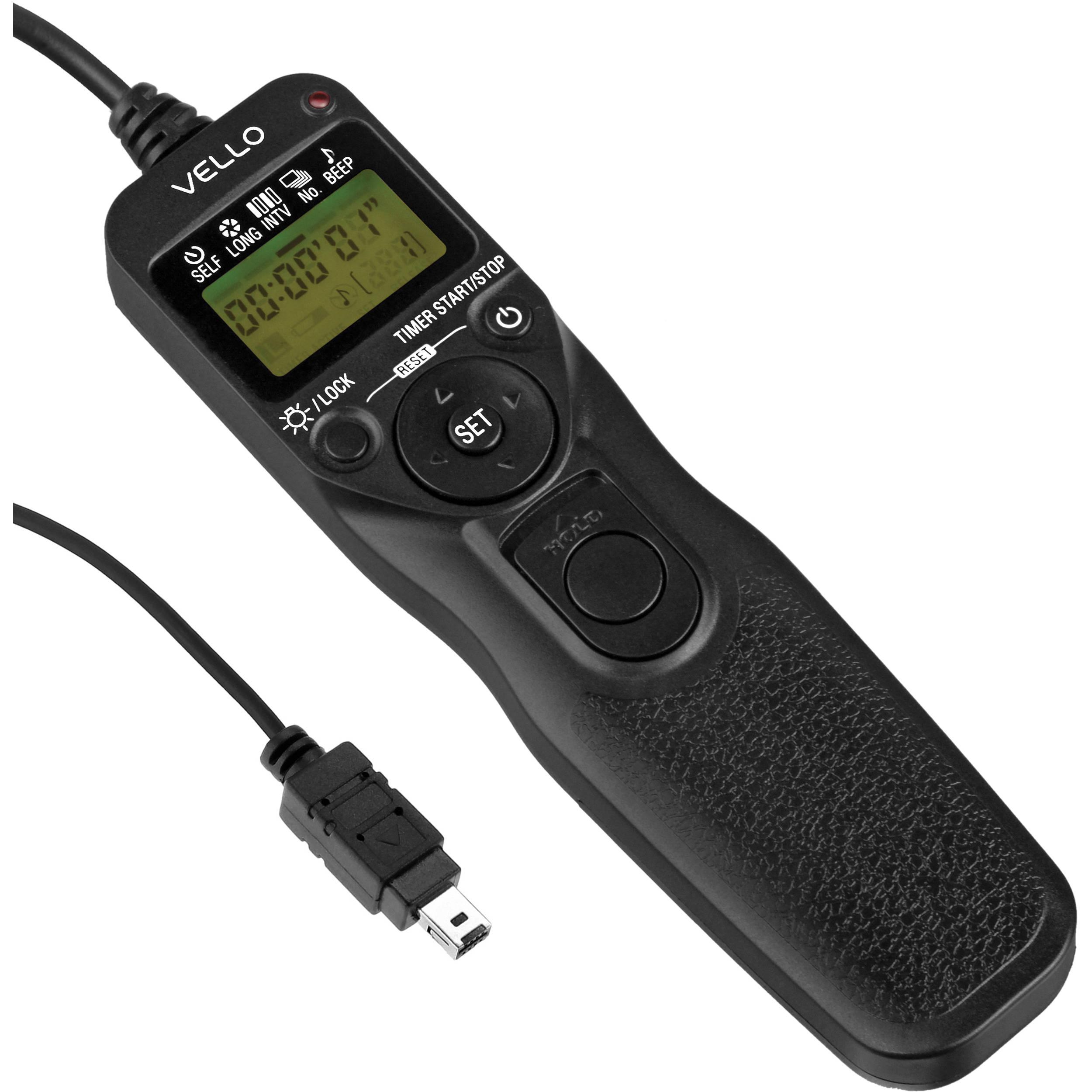 Vello Shutterboss Ii Timer Remote Switch For Nik Rc N2ii B Amp H