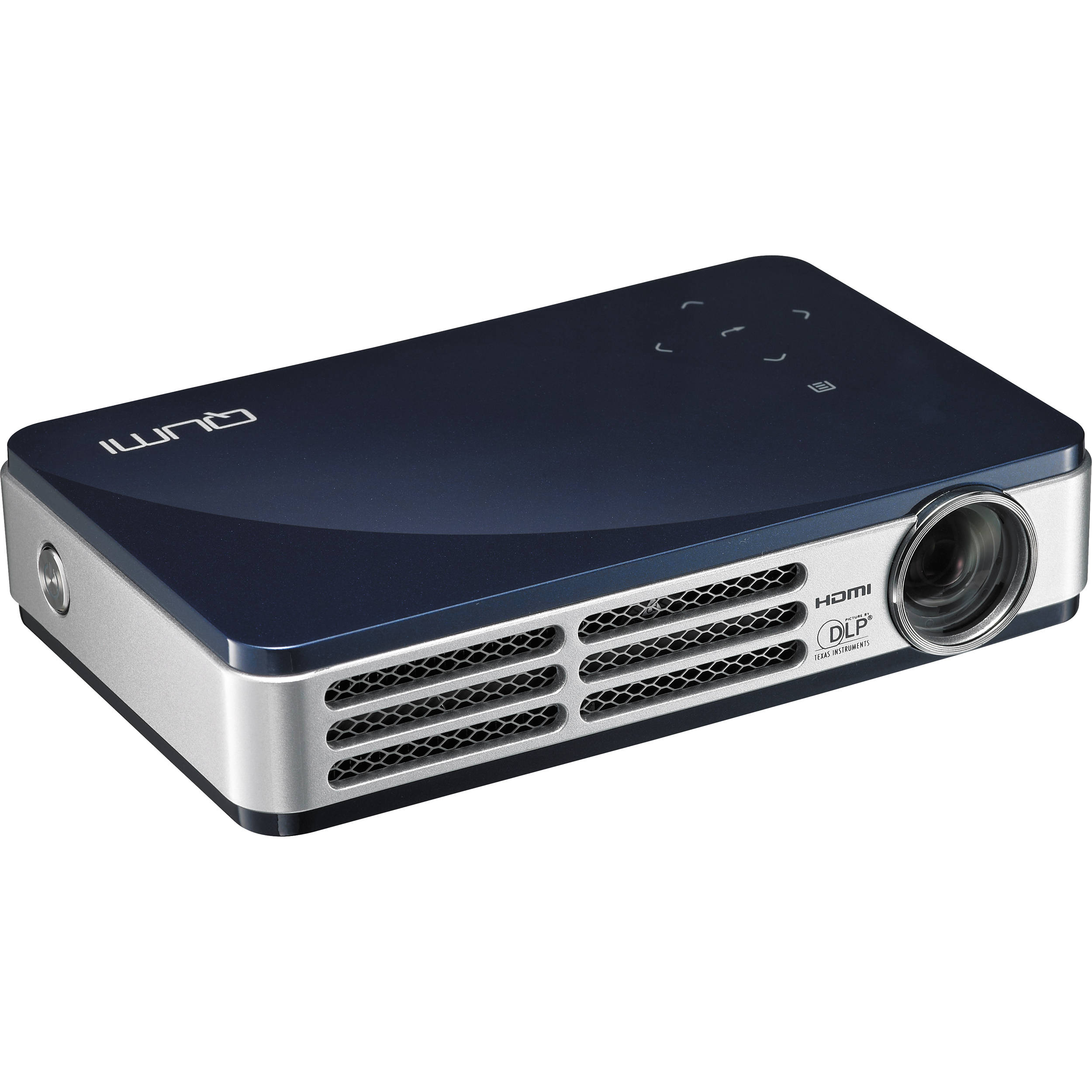 Vivitek qumi q5 super bright hd pocket projector 8 14964 for Hd projector