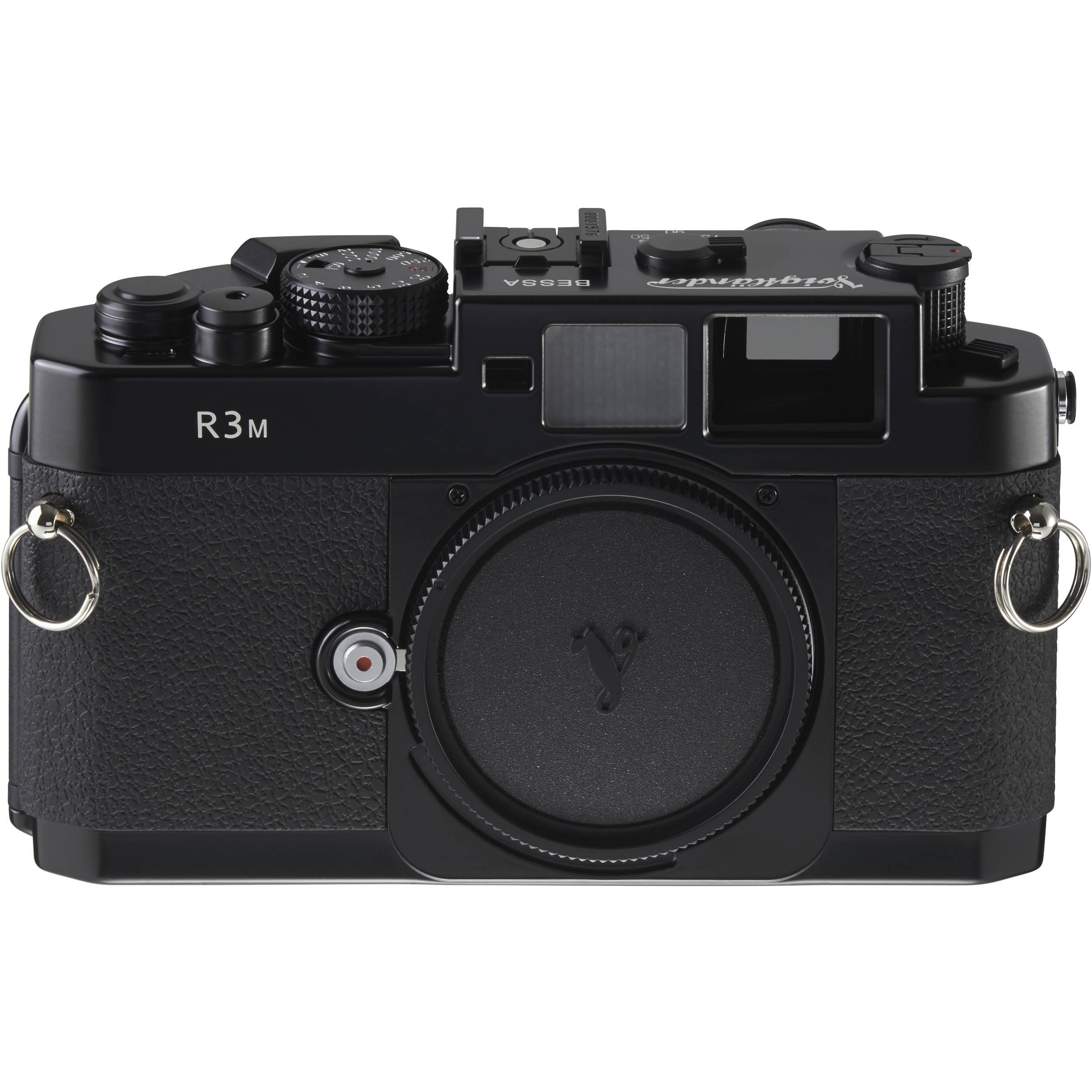 Voigtlander Bessa-R3M (1:1 Viewfinder) 35mm Rangefinder AA122A