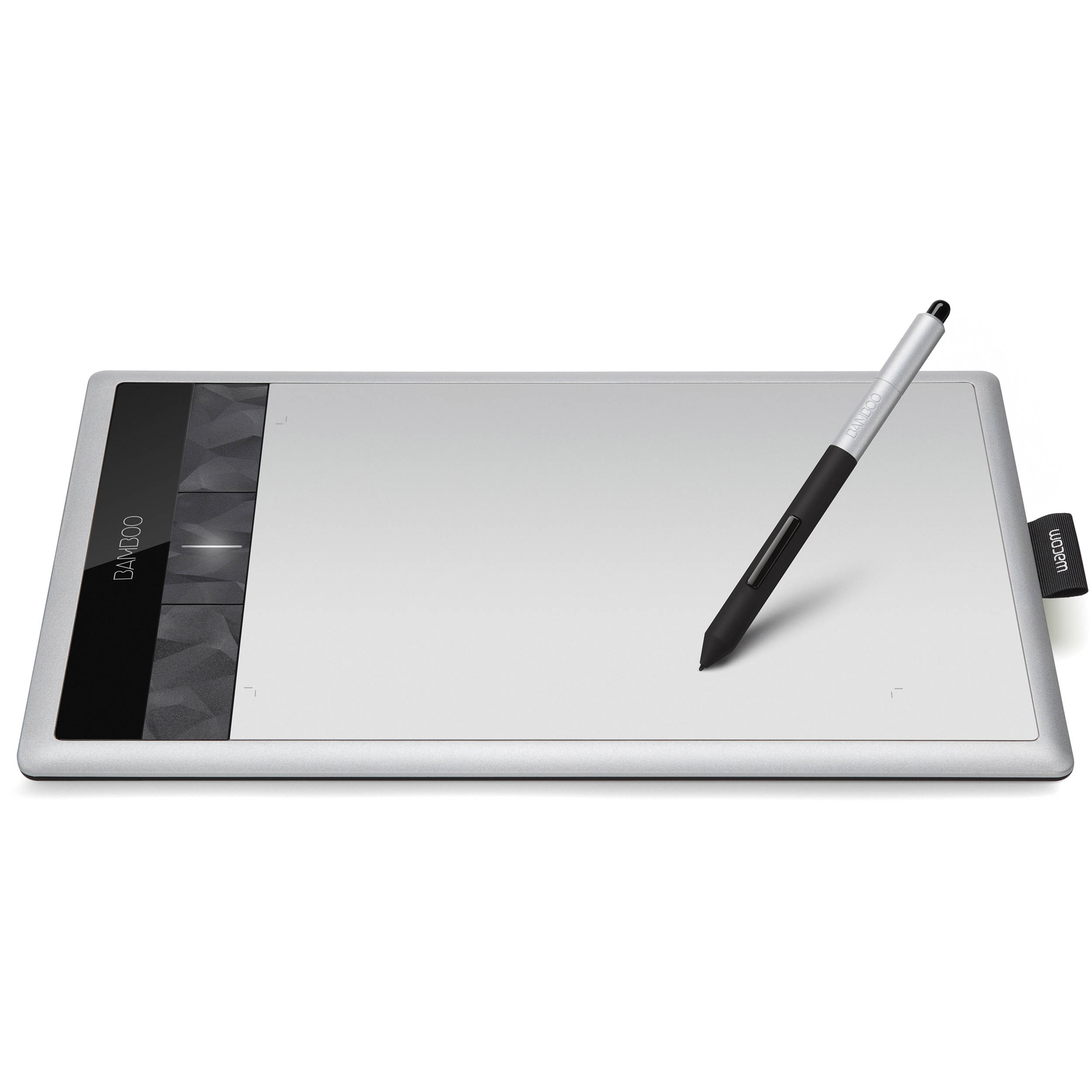 wacom bamboo create digital tablet silver cth670 b h photo rh bhphotovideo com Old Wacom Bamboo Fun Wacom Bamboo Fun CTE-450