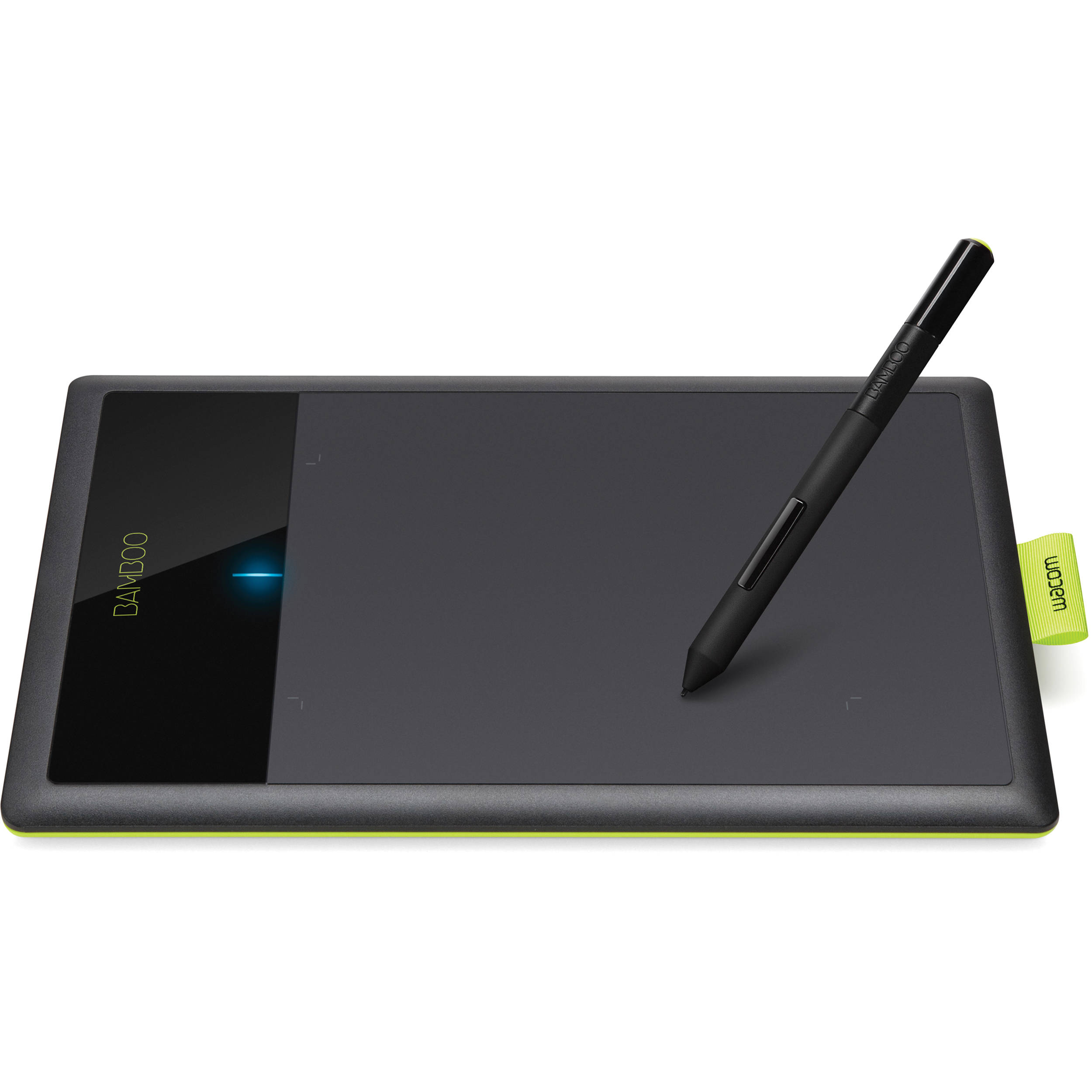 Wacom bamboo connect digital tablet black green ctl470 b amp h