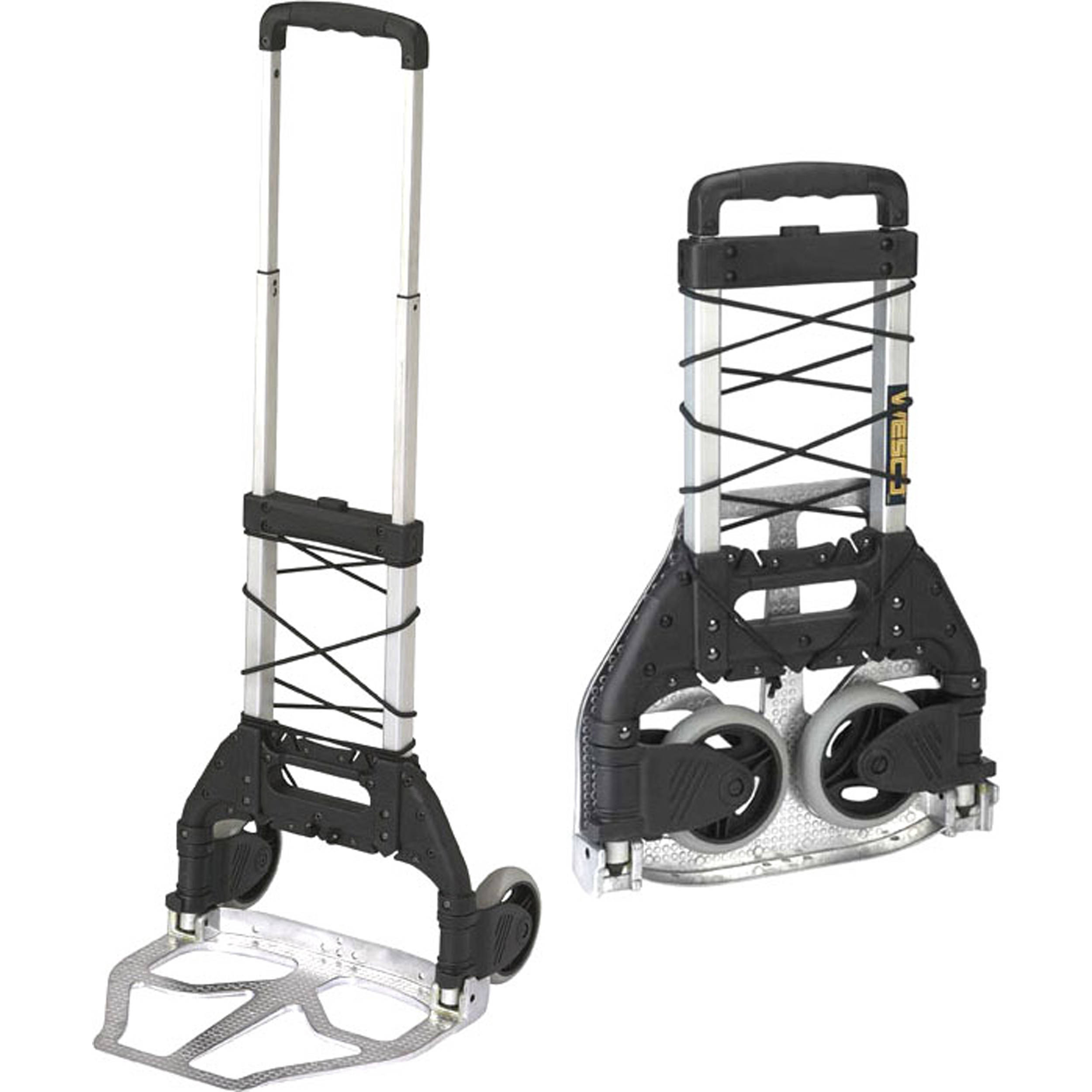 Wesco mini mover folding handtruck weight capacity 110 lbs 50kg