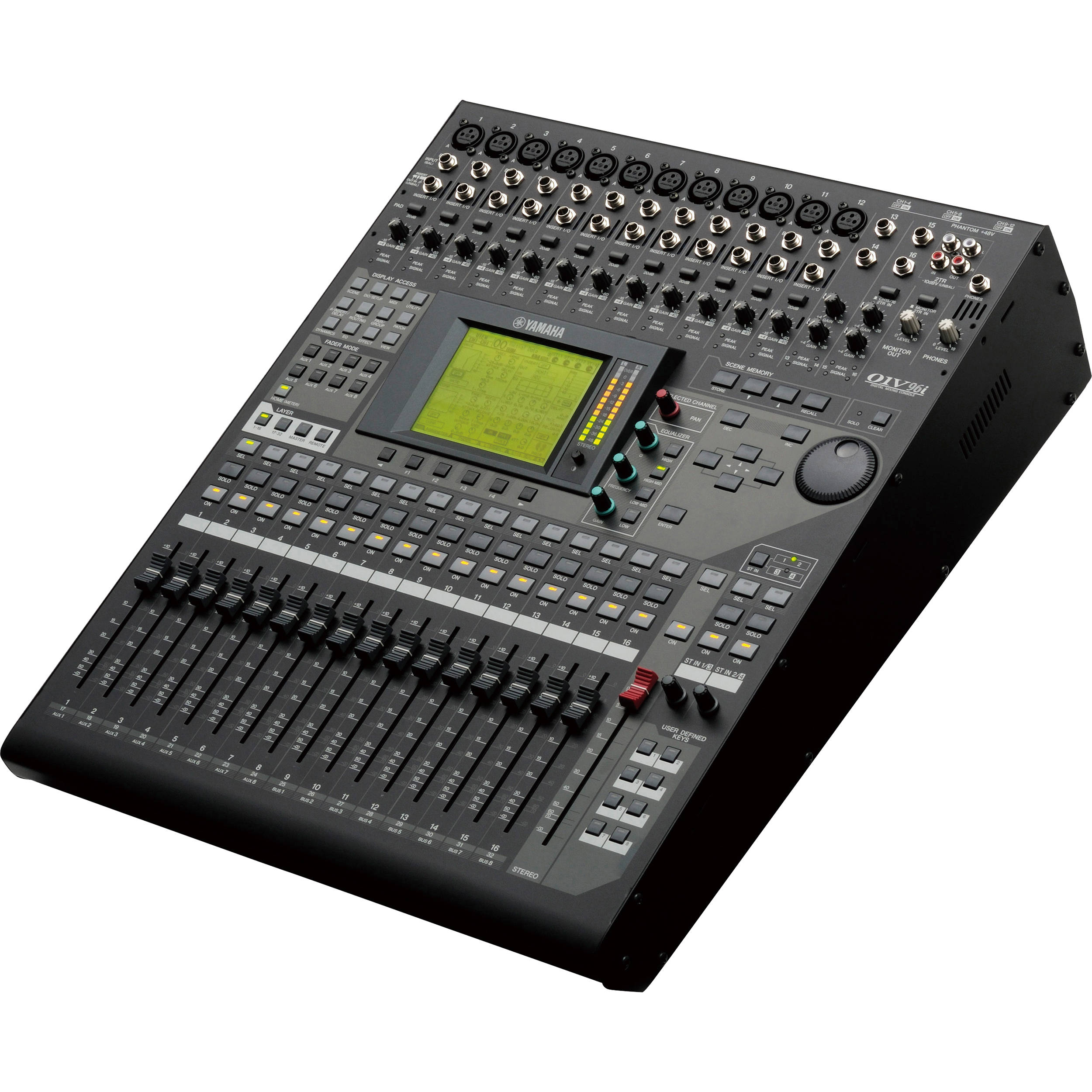 yamaha 01v96i multi track digital mixing console with usb 01v96i. Black Bedroom Furniture Sets. Home Design Ideas