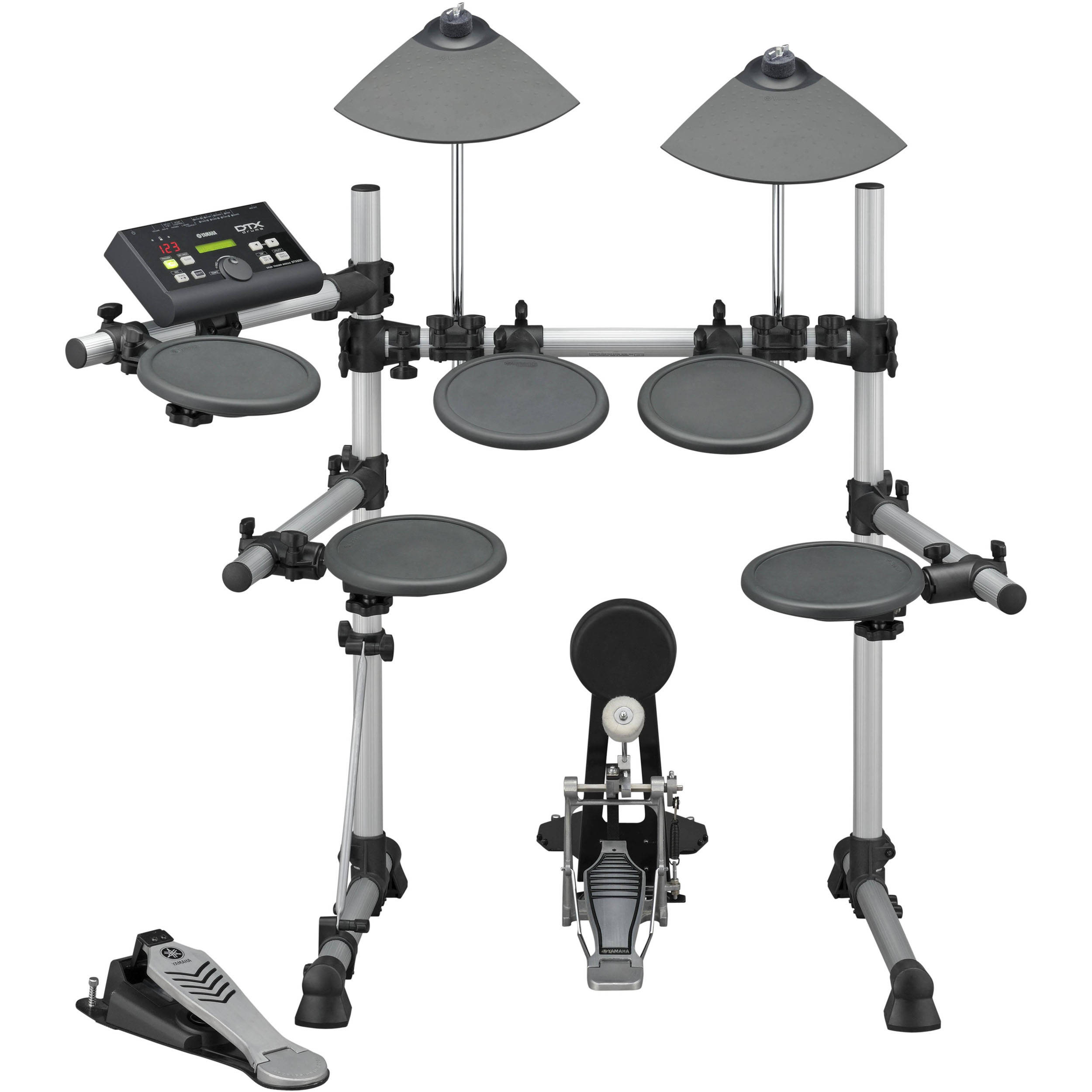 Yamaha dtx500k electronic drum set b h kit dtx500k b h photo for Electric drum set yamaha