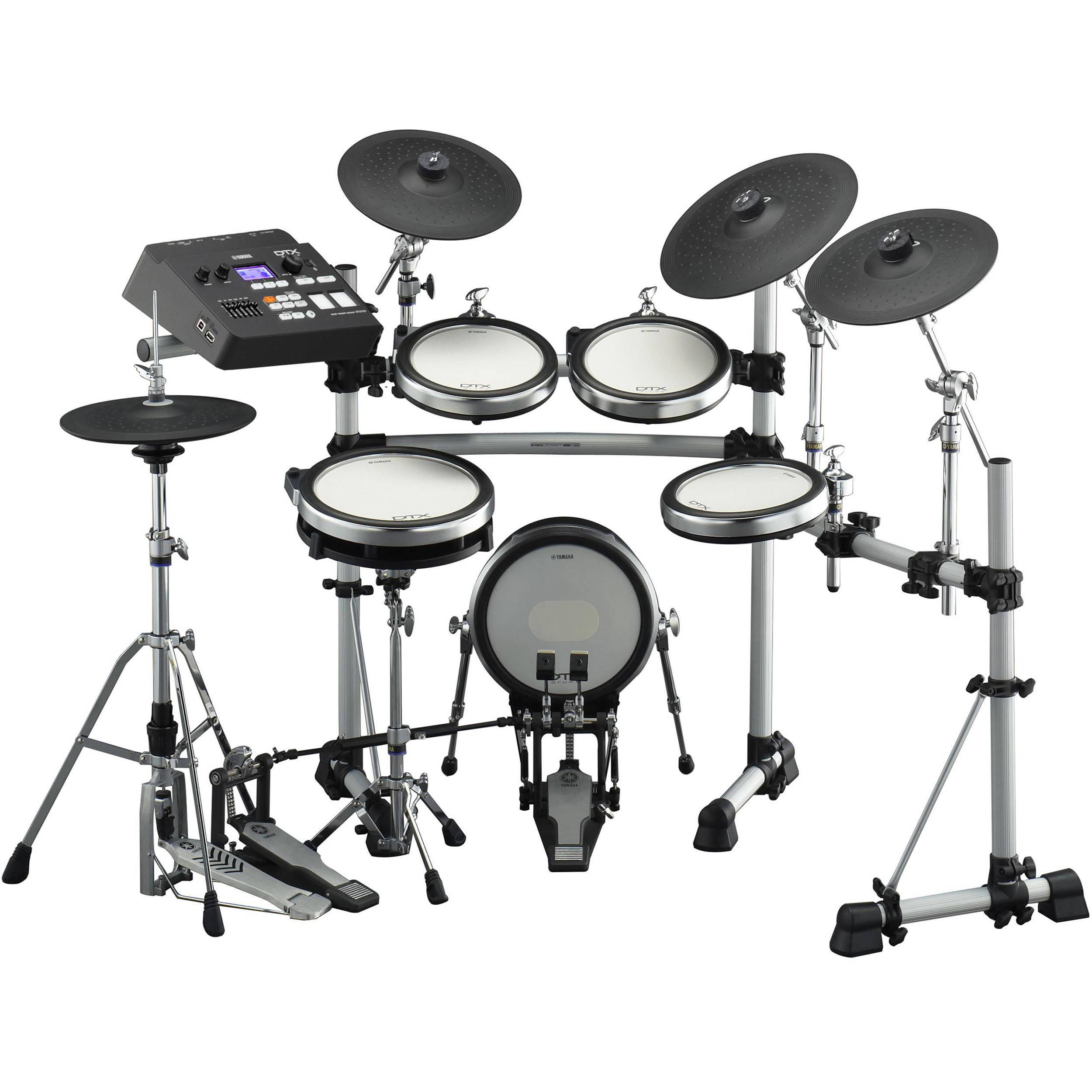 yamaha dtx790k electronic drum set b h kit dtx790k b h photo. Black Bedroom Furniture Sets. Home Design Ideas