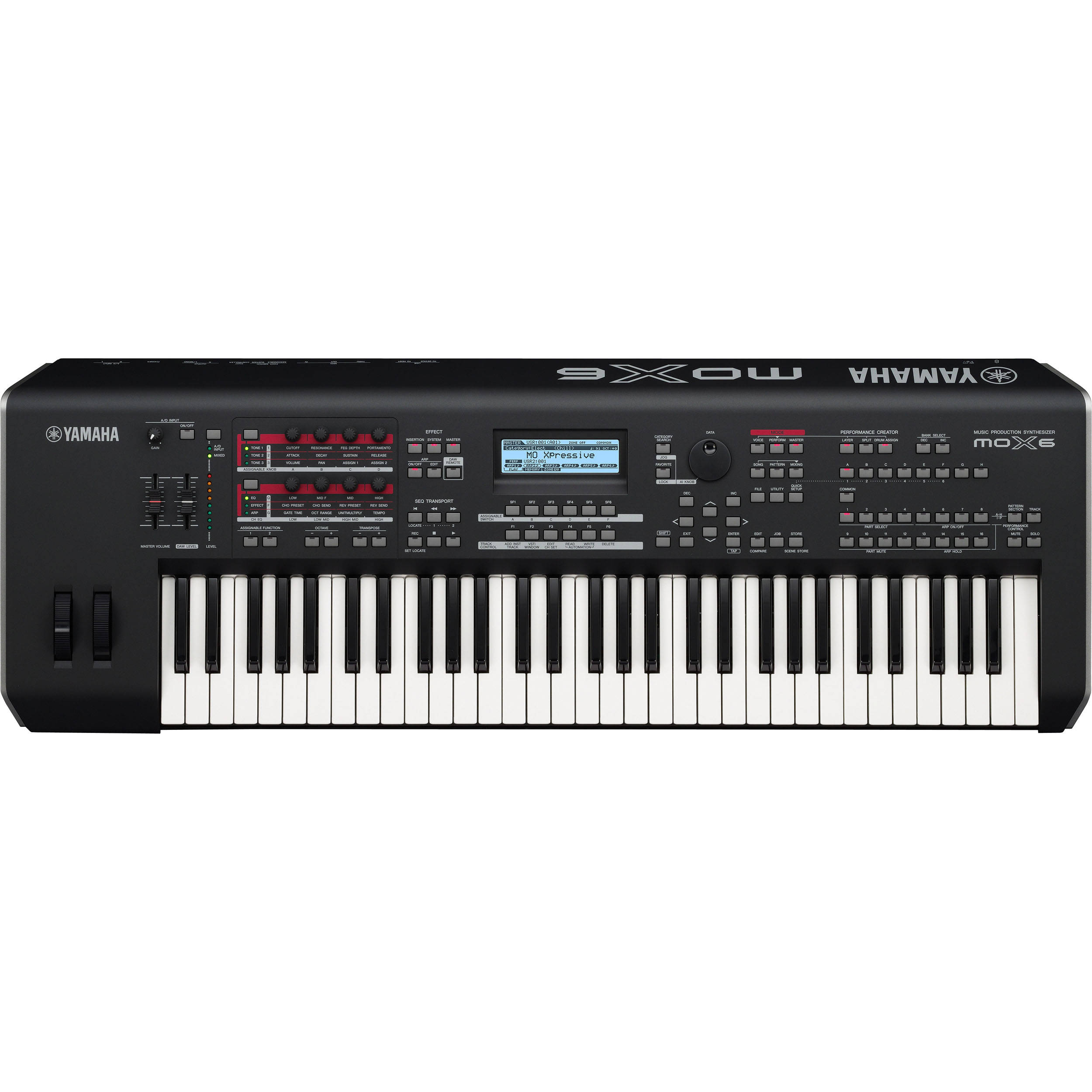 yamaha mox6 61 key synthesizer workstation mox6 b h photo video rh bhphotovideo com yamaha mox 6 manual Yamaha MOX 6 Review