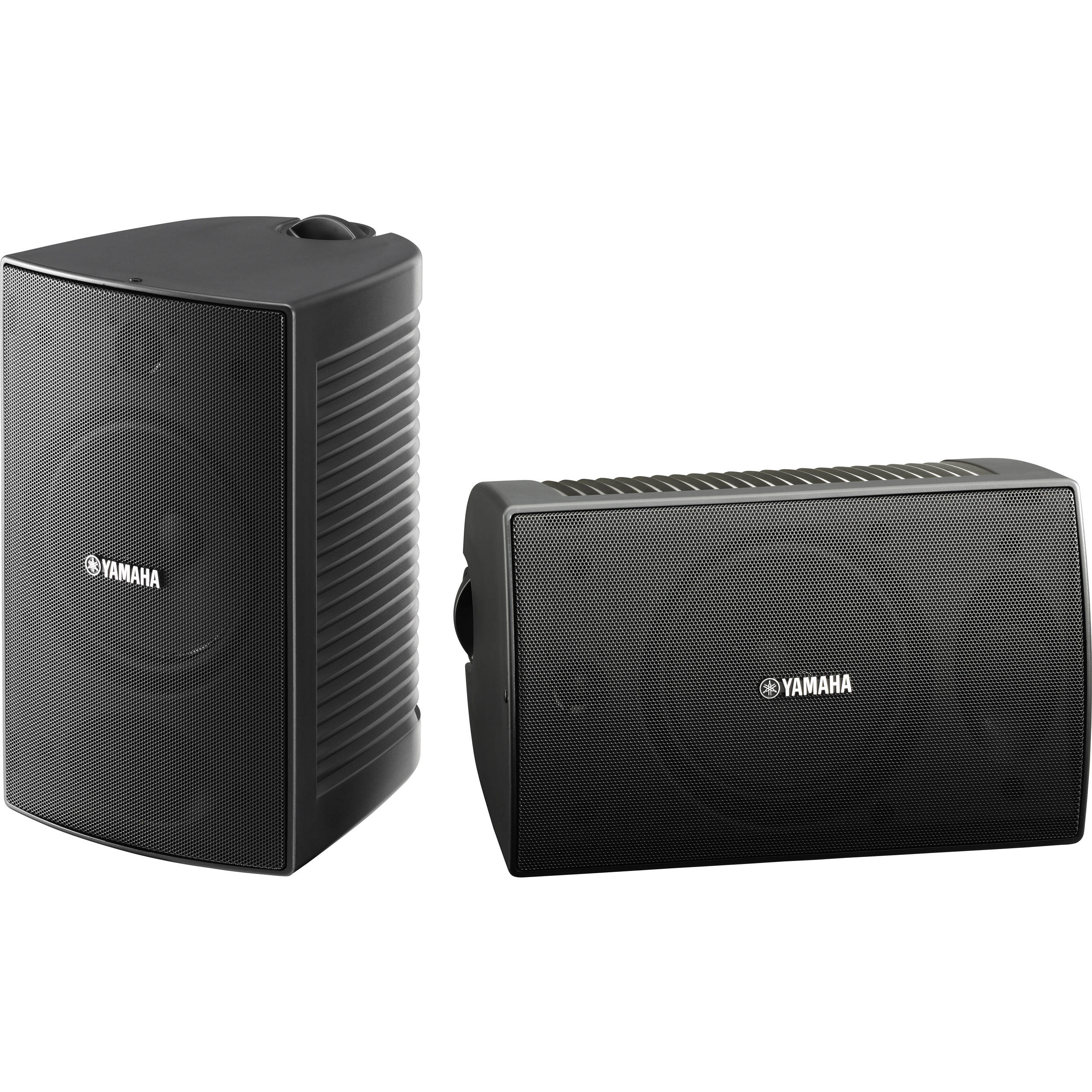 yamaha ns aw294 outdoor speakers pair black ns aw294bl b h