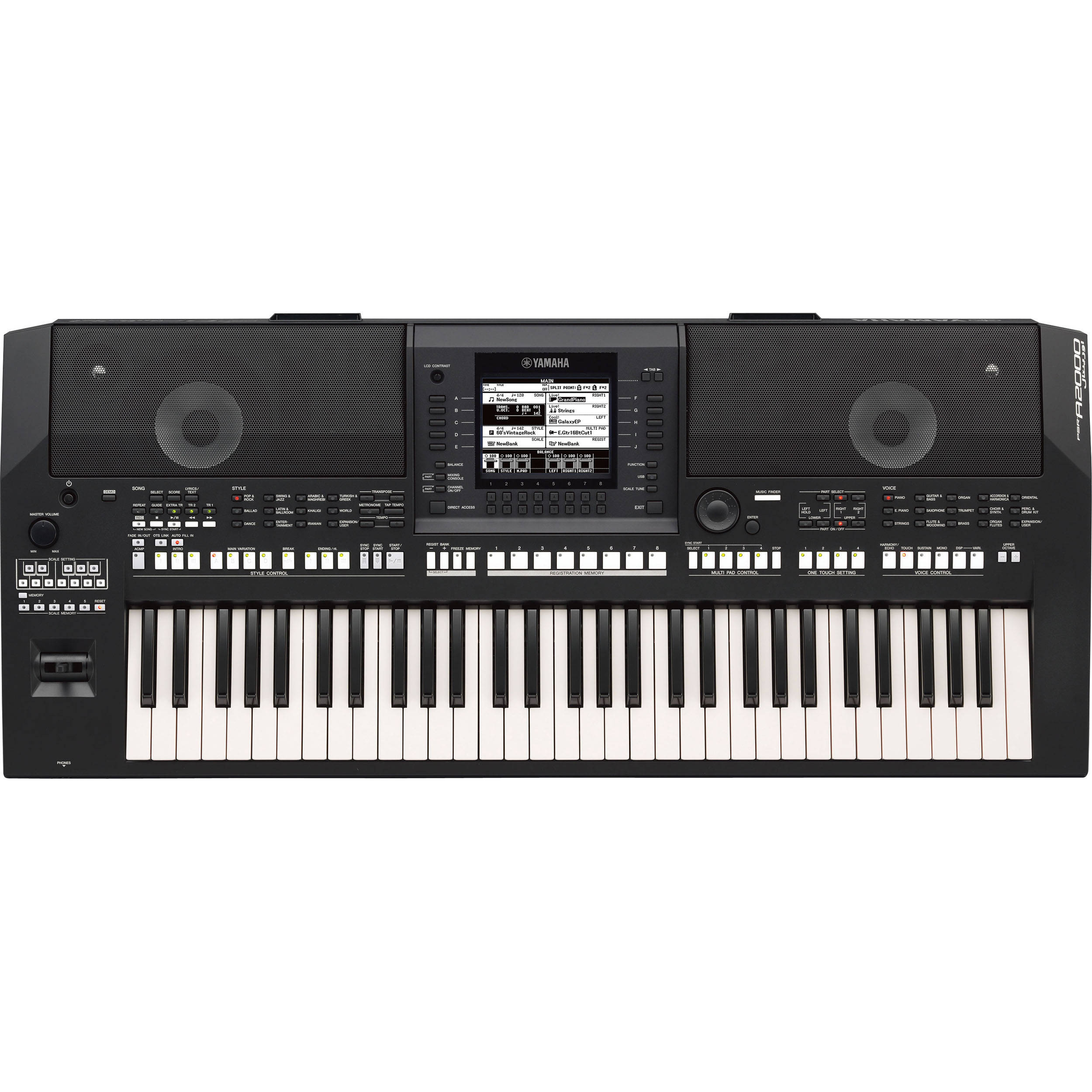 Latest Yamaha Keyboard Workstation : yamaha psr a2000 61 key arranger workstation keyboard psra2000 ~ Russianpoet.info Haus und Dekorationen