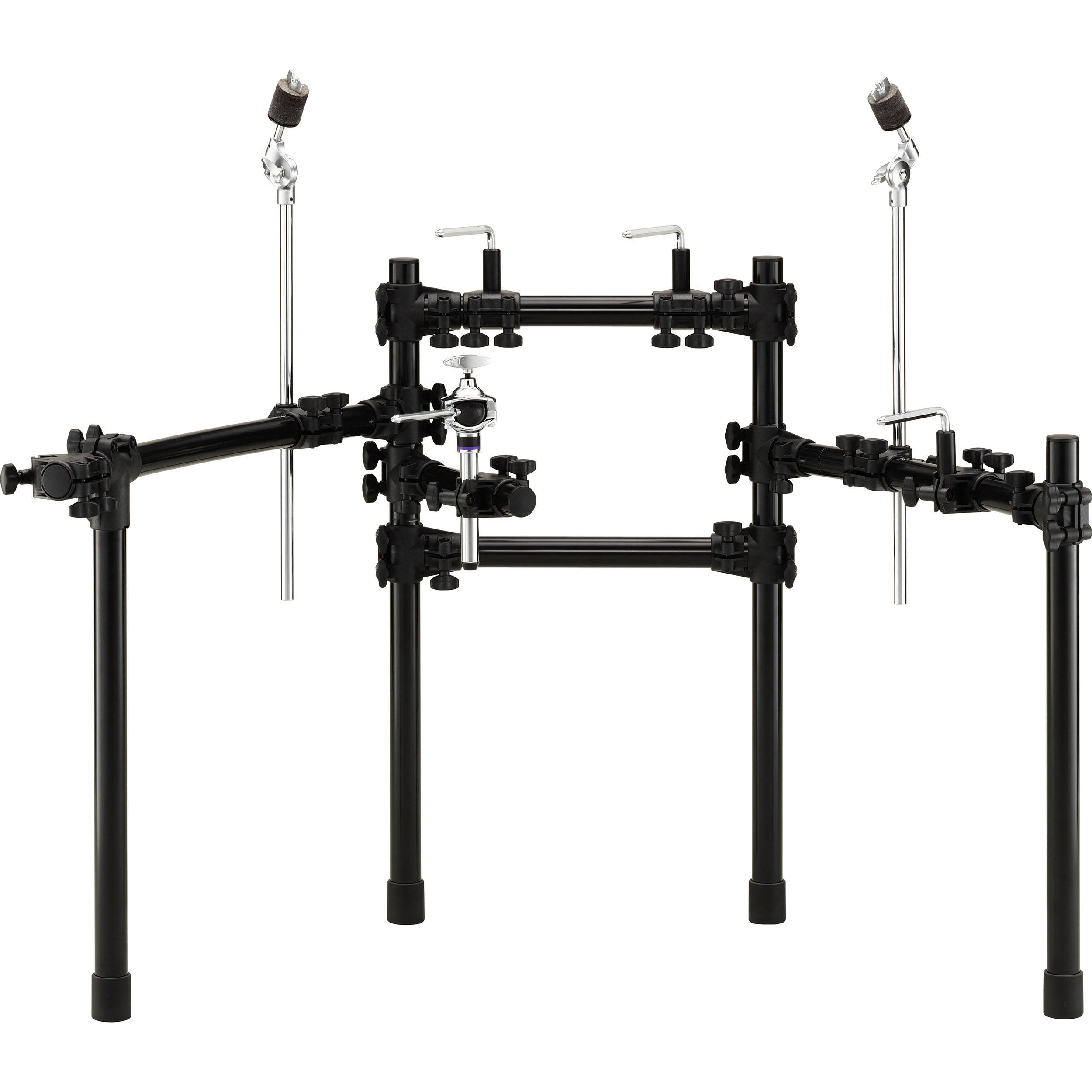 yamaha rs500 dtx series electronic drum rack rs500 b h photo. Black Bedroom Furniture Sets. Home Design Ideas