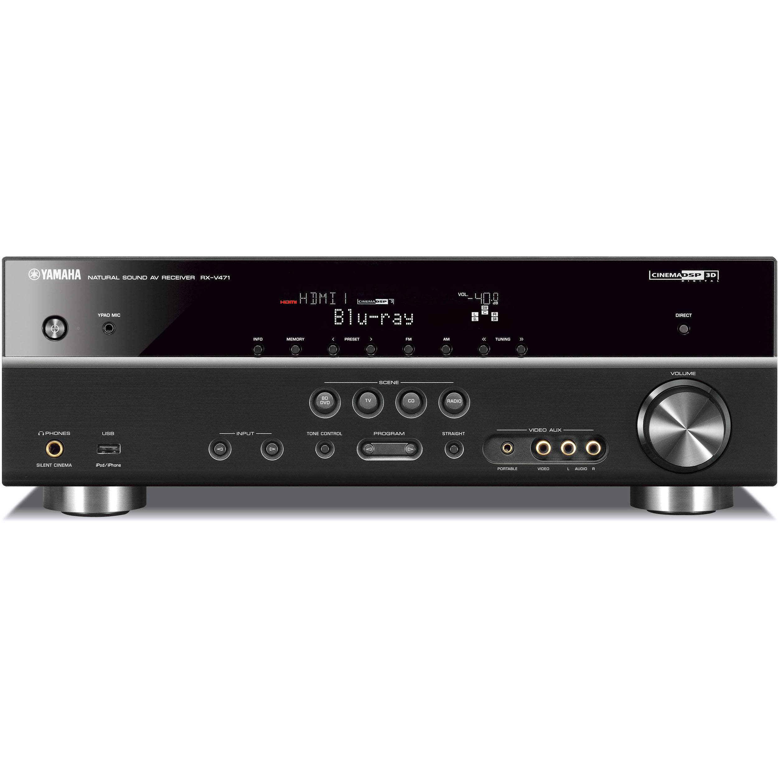 Yamaha  Channel Home Theater Amp