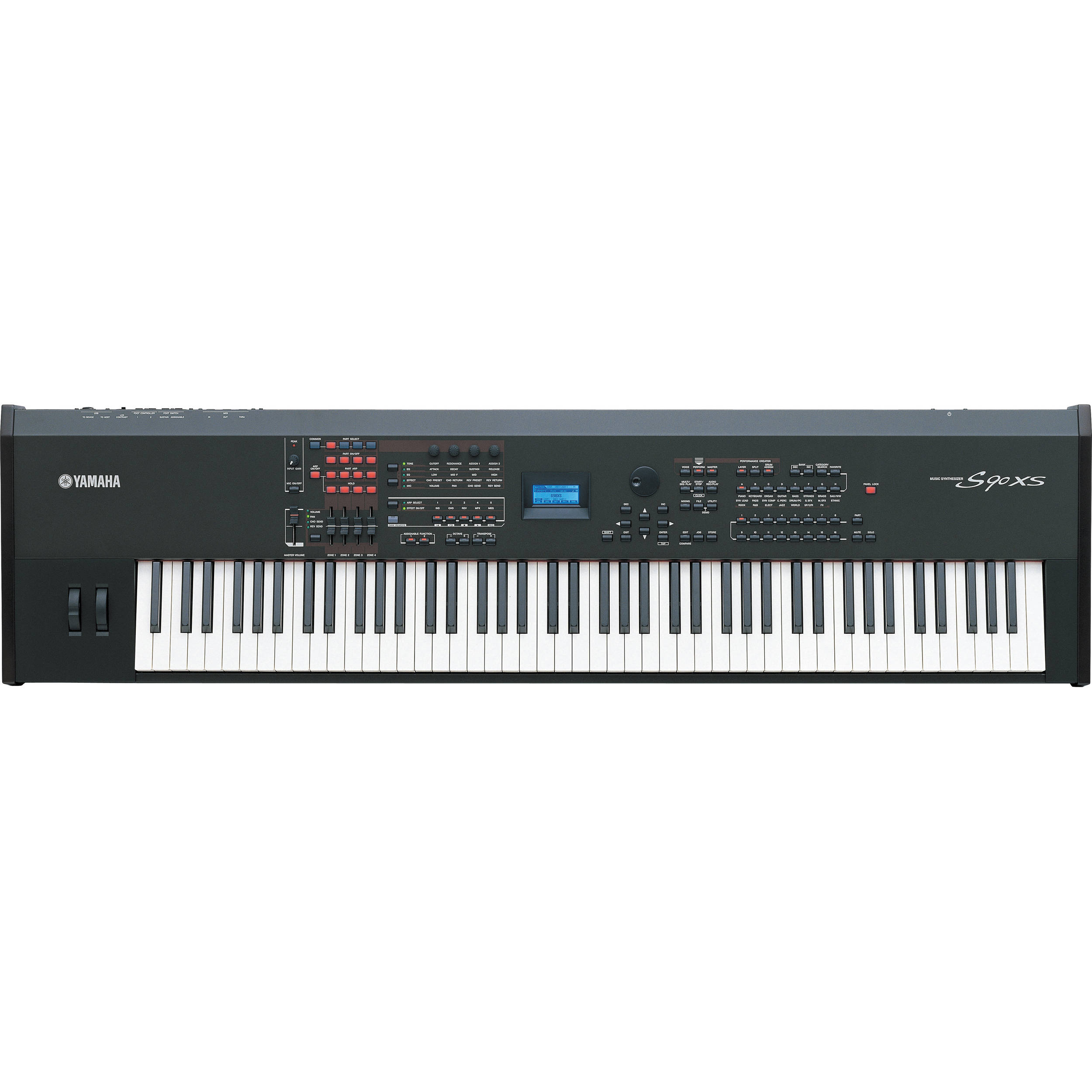 yamaha s90 xs 88 key hammer action performance s90xs b h photo rh bhphotovideo com yamaha keyboard s90xs manual yamaha s90xs manual download
