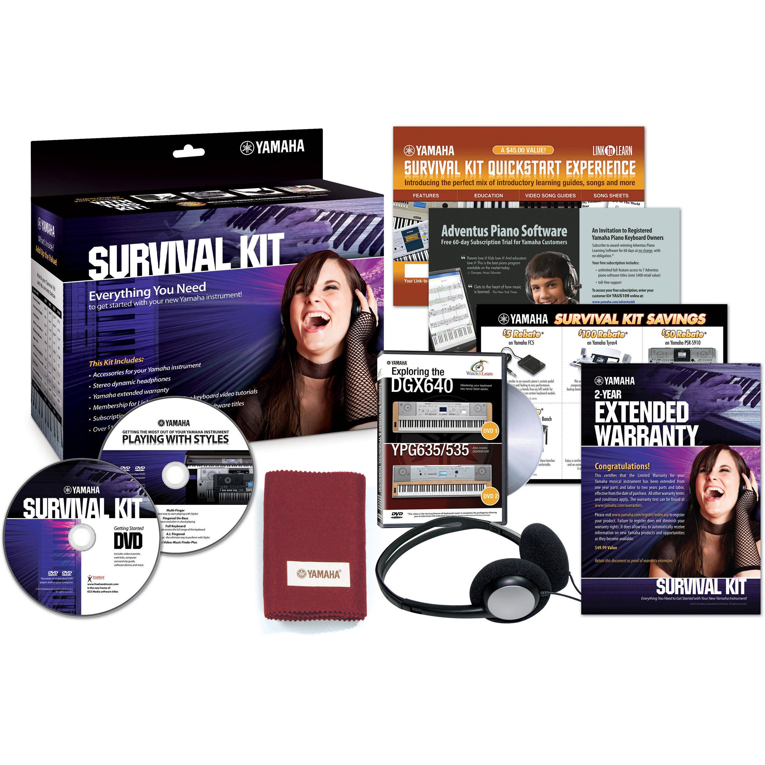 Yamaha Survival Kit Dvd