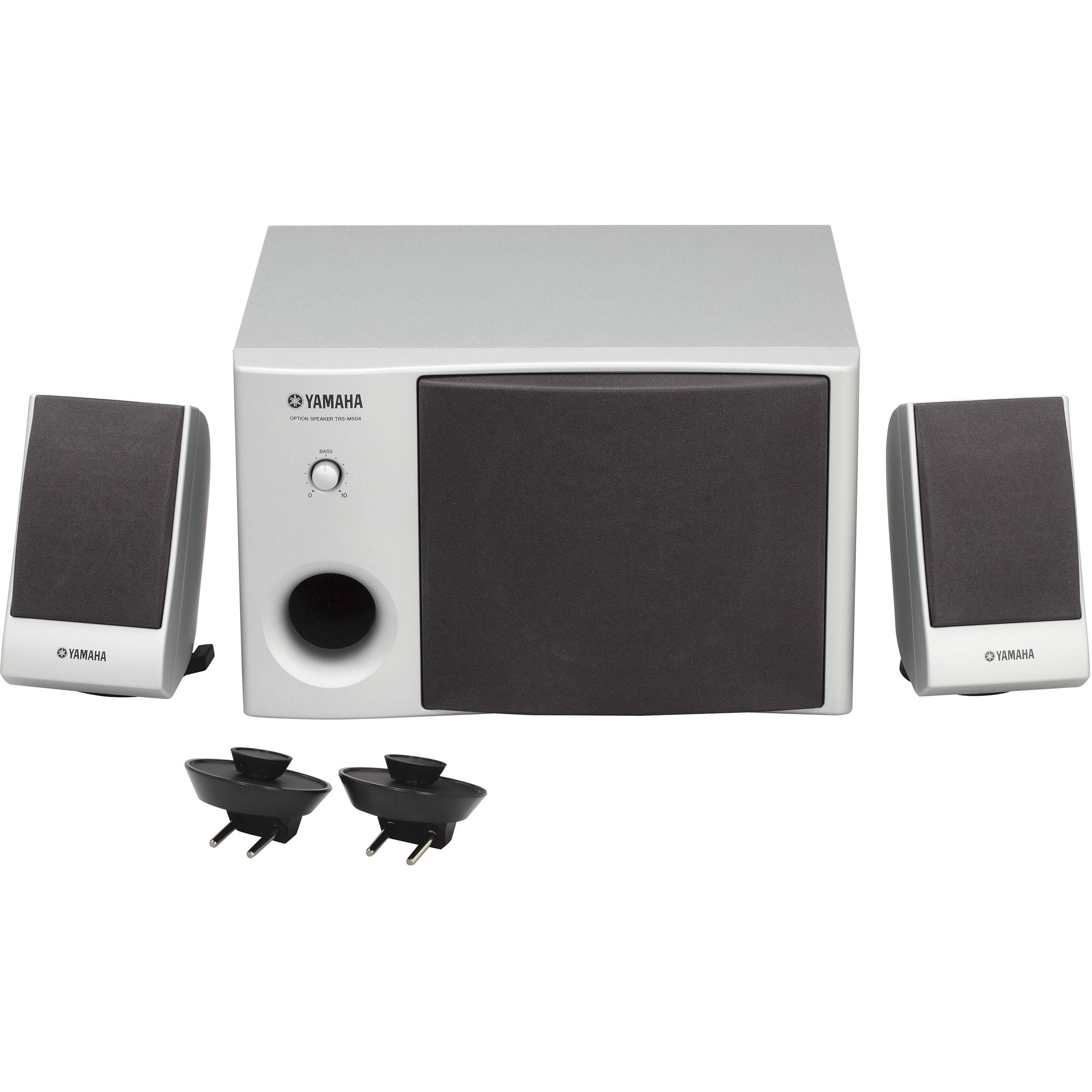 Yamaha trs ms04 speaker system trsms04 b h photo video for Yamaha speakers system