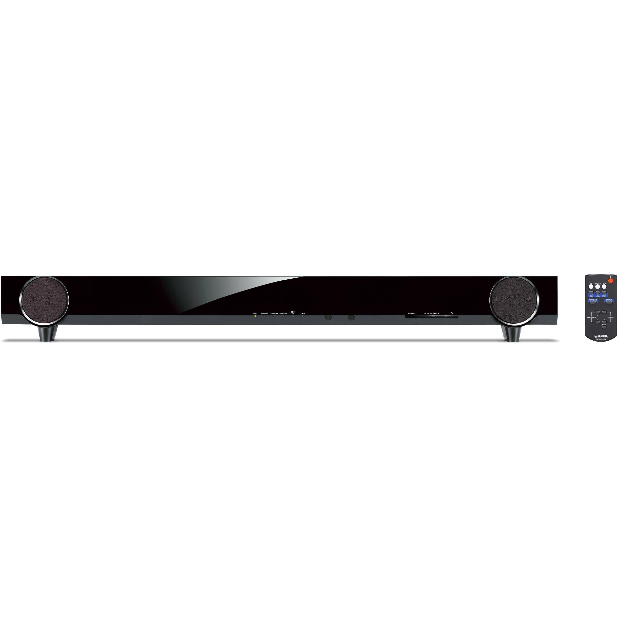 yamaha yas 101 front surround soundbar speaker system yas. Black Bedroom Furniture Sets. Home Design Ideas