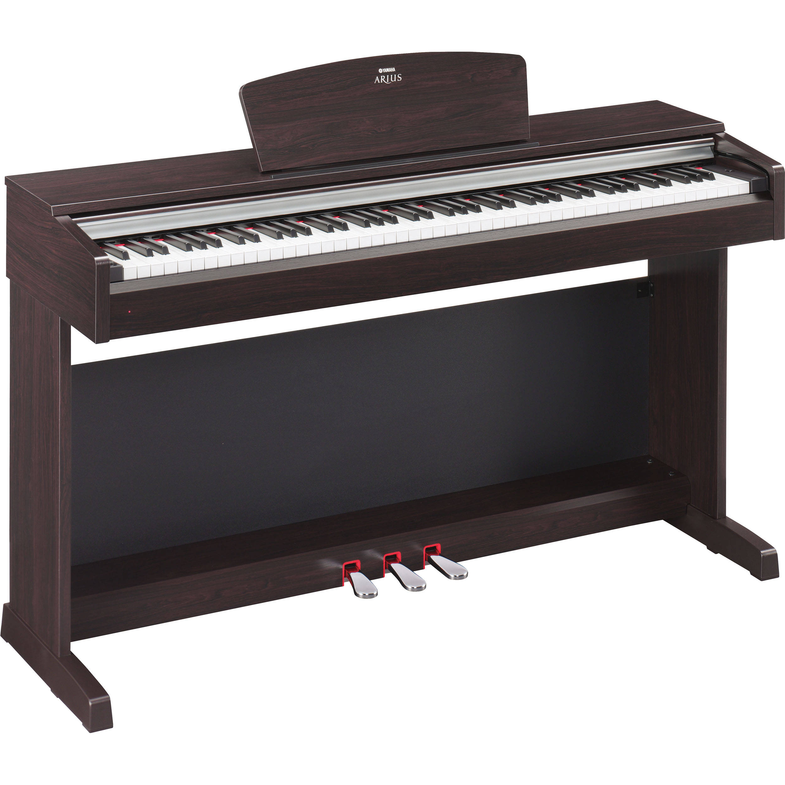 yamaha arius ydp 135r digital piano ydp135r b h photo video