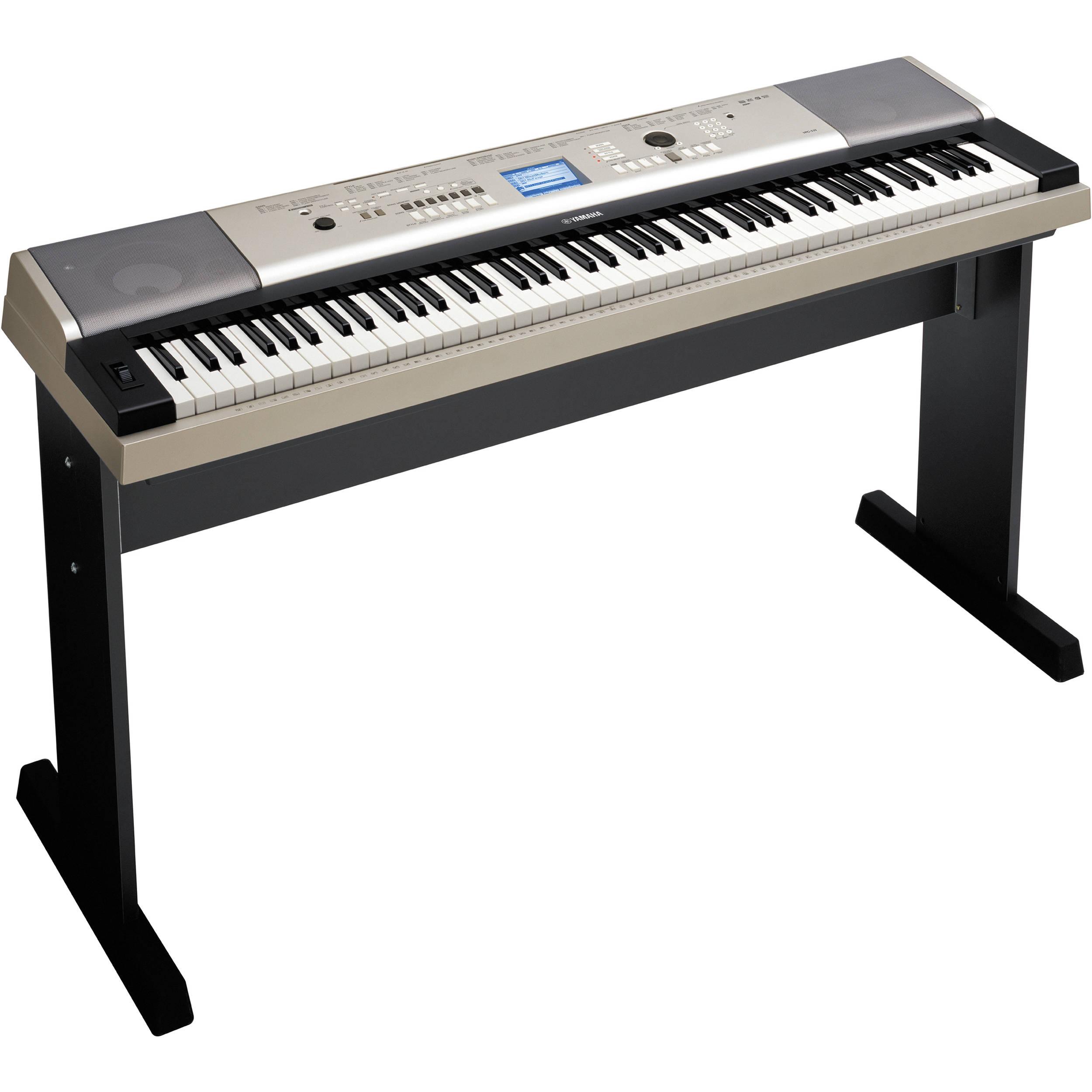 yamaha ypg 535 88 note portable keyboard ypg535 b h photo rh bhphotovideo com yamaha ypg-535 manual Yamaha YPG-535 Keyboard
