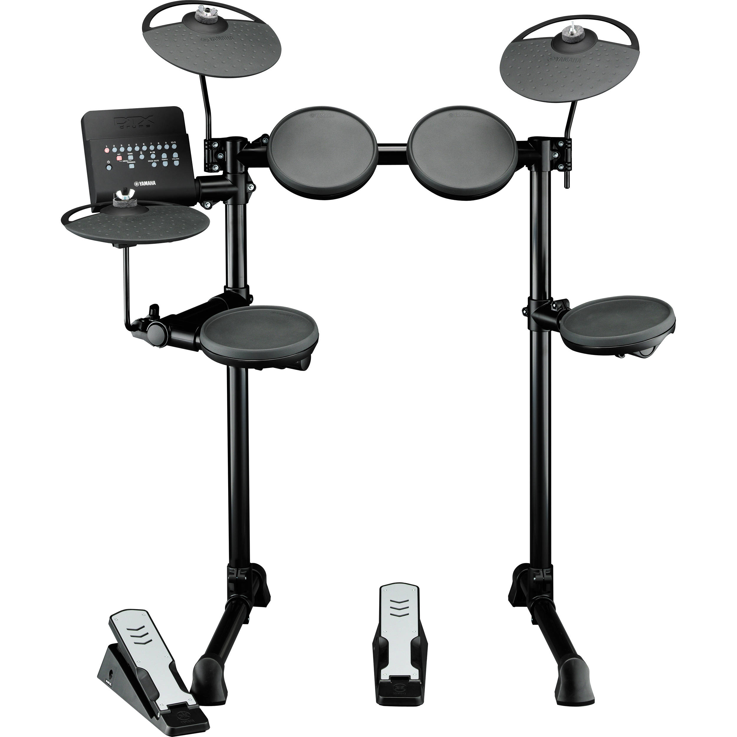 yamaha dtx400k electronic drum kit dtx400k b h photo video. Black Bedroom Furniture Sets. Home Design Ideas