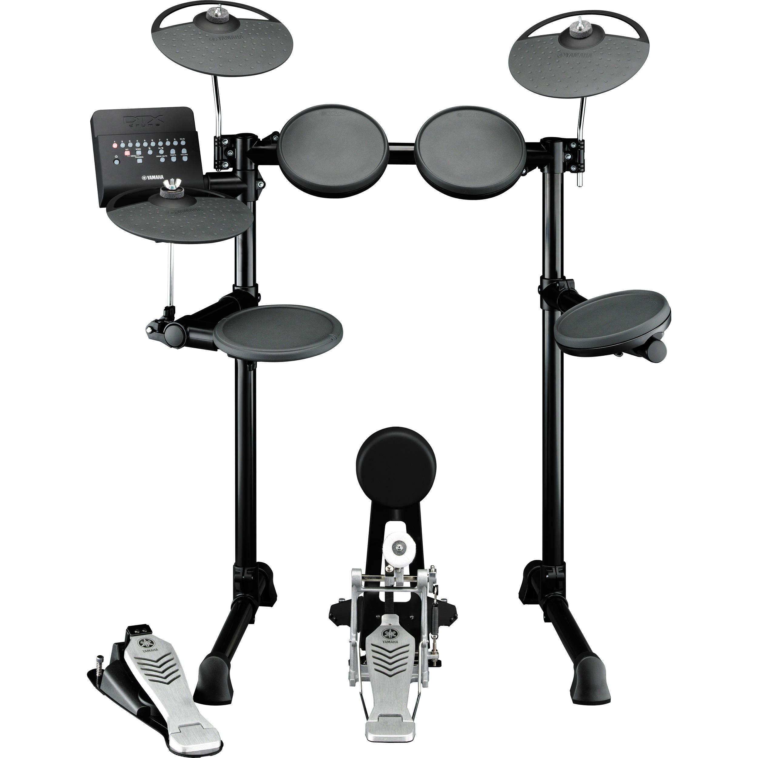 yamaha dtx450k electronic drum kit dtx450k b h photo video