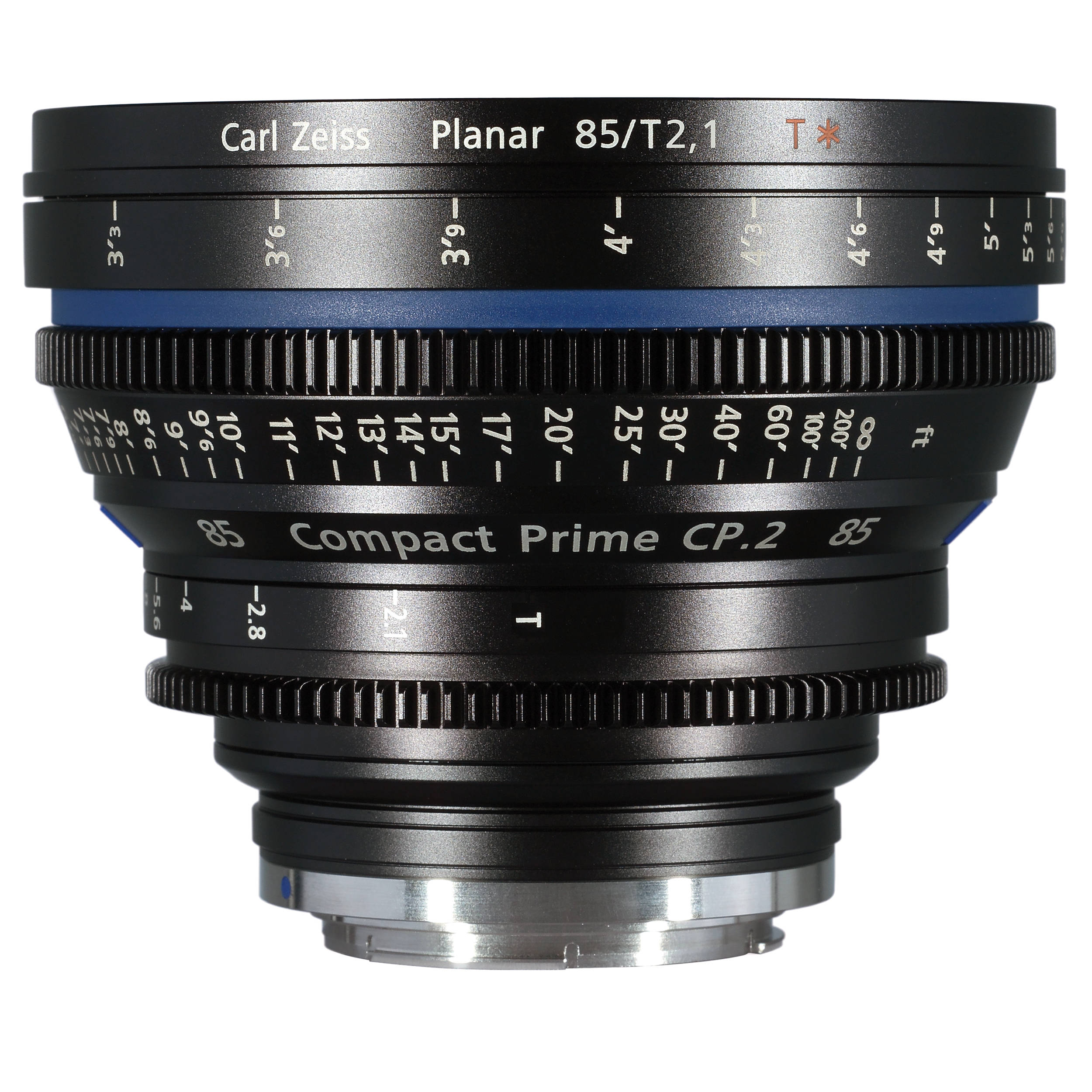 Zeiss Compact Prime Cp 2 85mm T2 1 Cine Lens Ef Mount