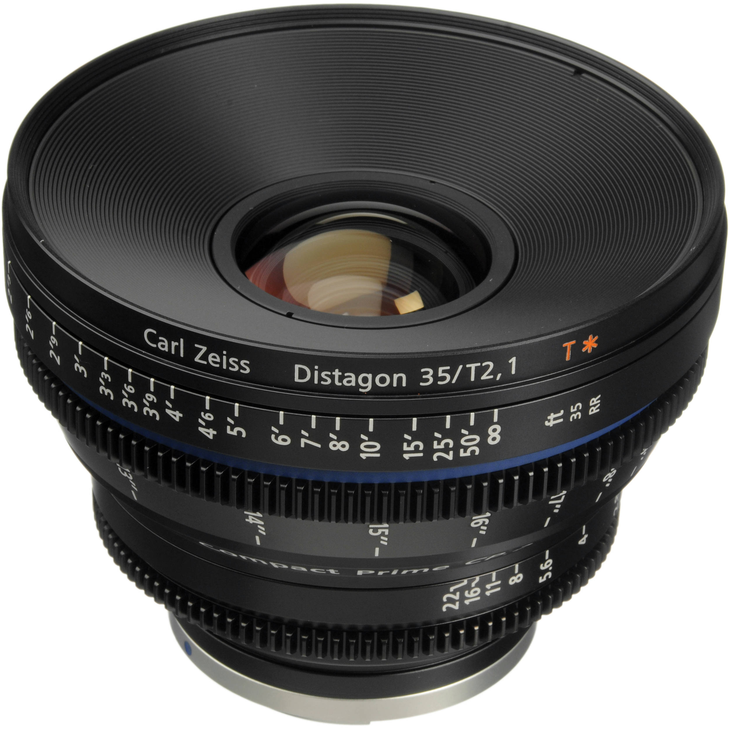 Zeiss Compact Prime Cp 2 35mm T2 1 Cine Lens Ef Mount
