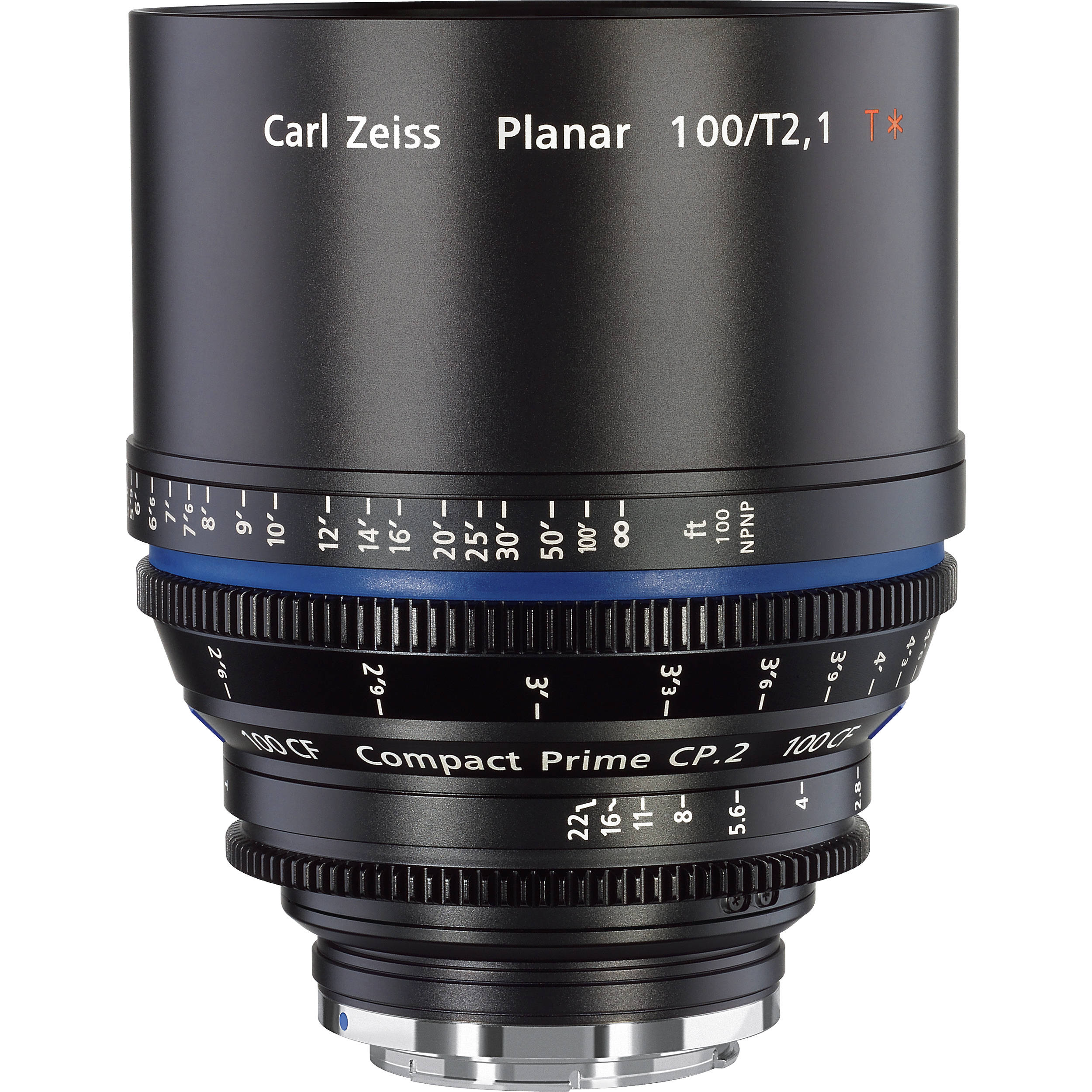 Zeiss Compact Prime Cp 2 100mm T2 1 Cf Cine Lens 1842 771 B Amp H