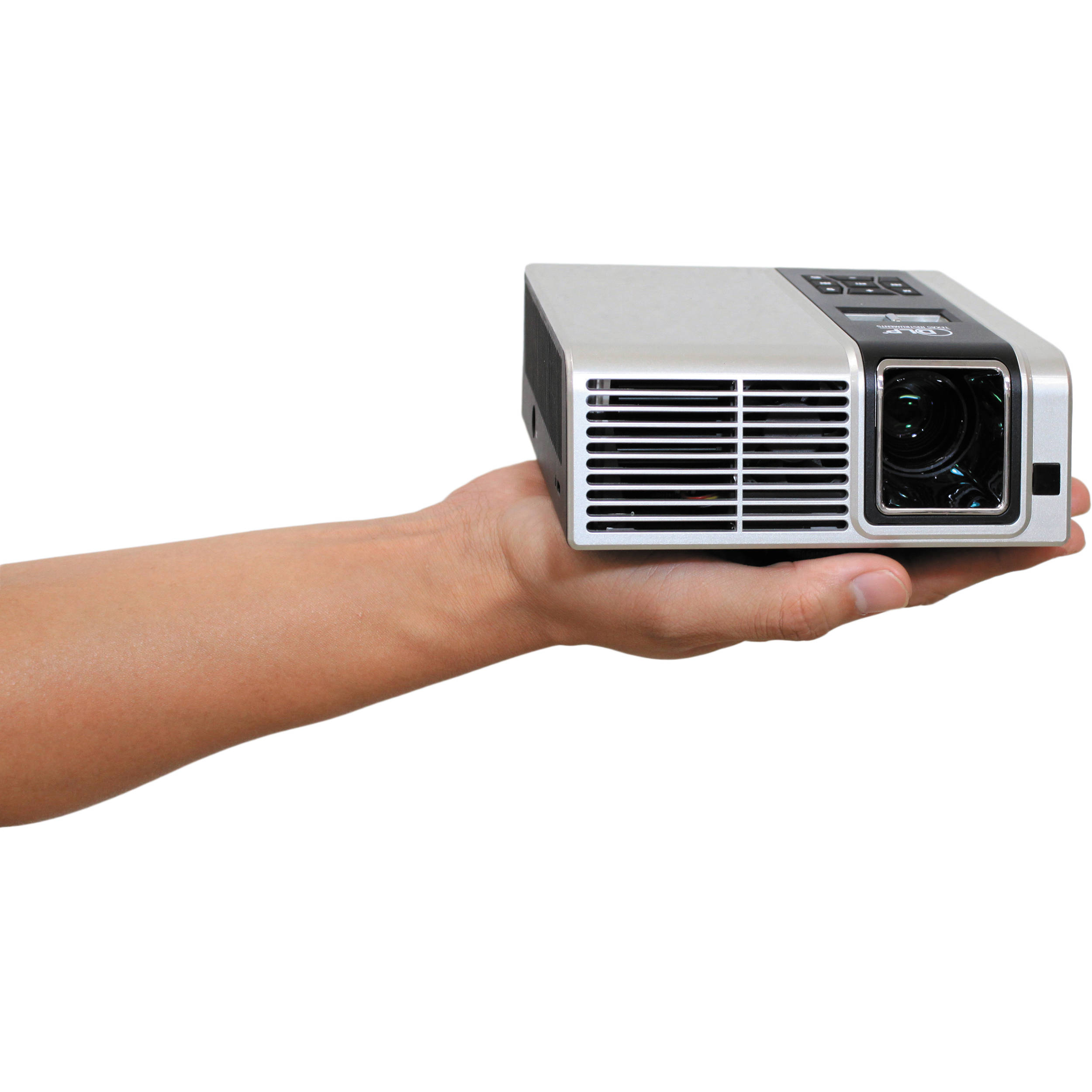 Aaxa technologies 250 lumens micro projector mp400 01 b h for Compare micro projectors