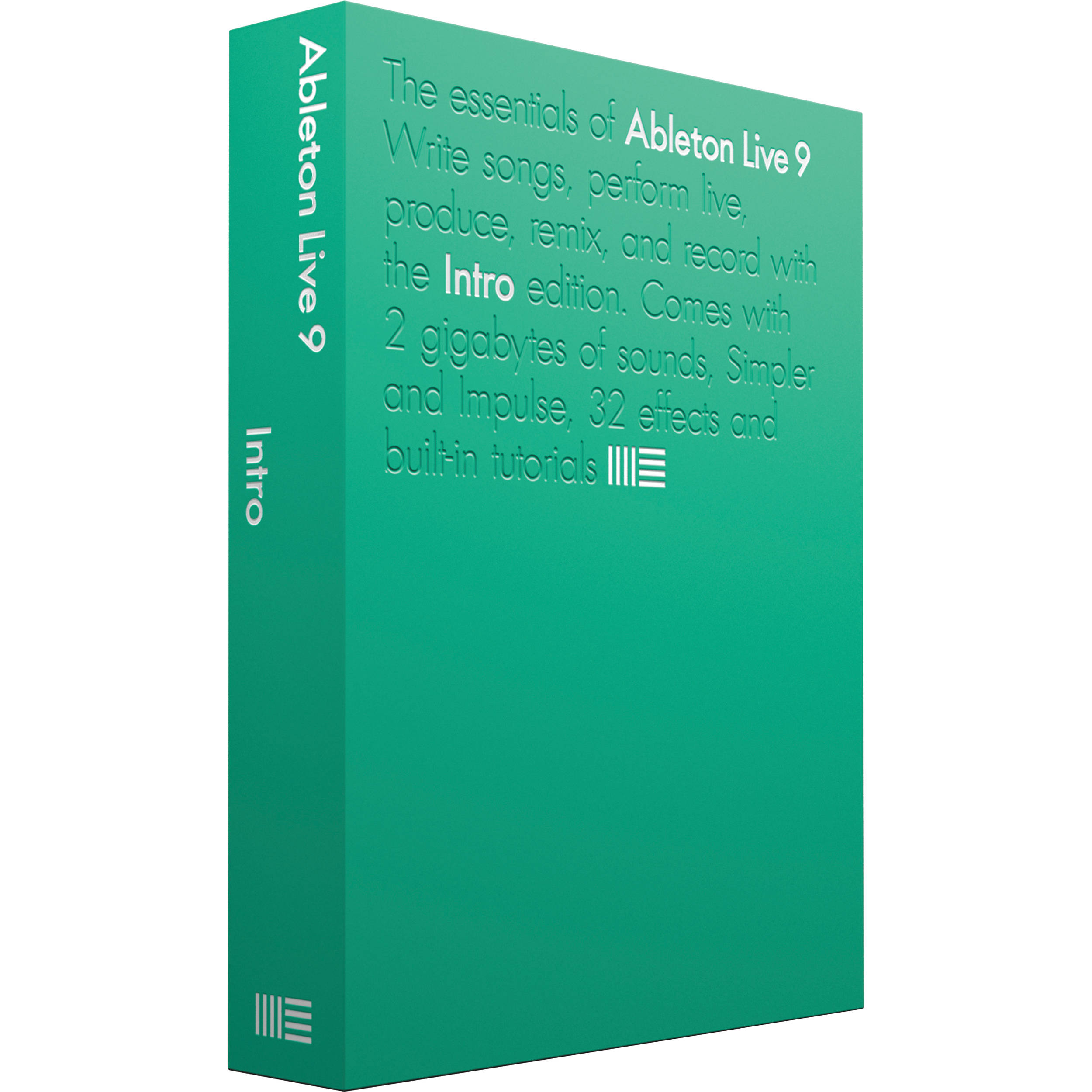 Ableton Live 9 Intro - Music Production Software 85838 B&H Photo