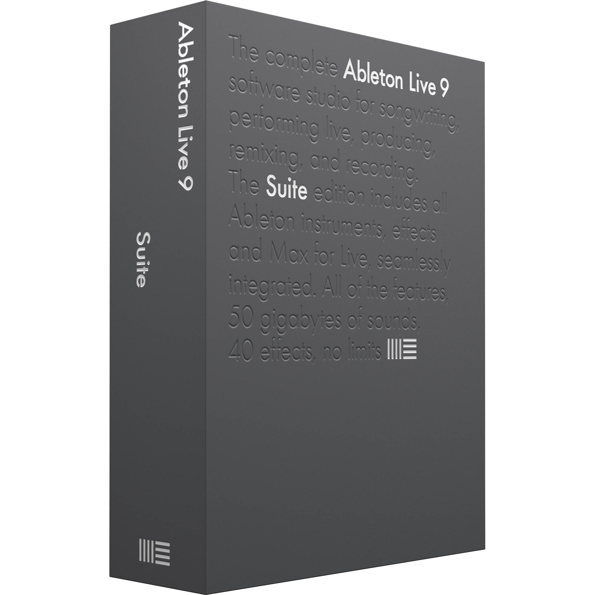 ableton live 9 suite upgrade music production software 86972. Black Bedroom Furniture Sets. Home Design Ideas