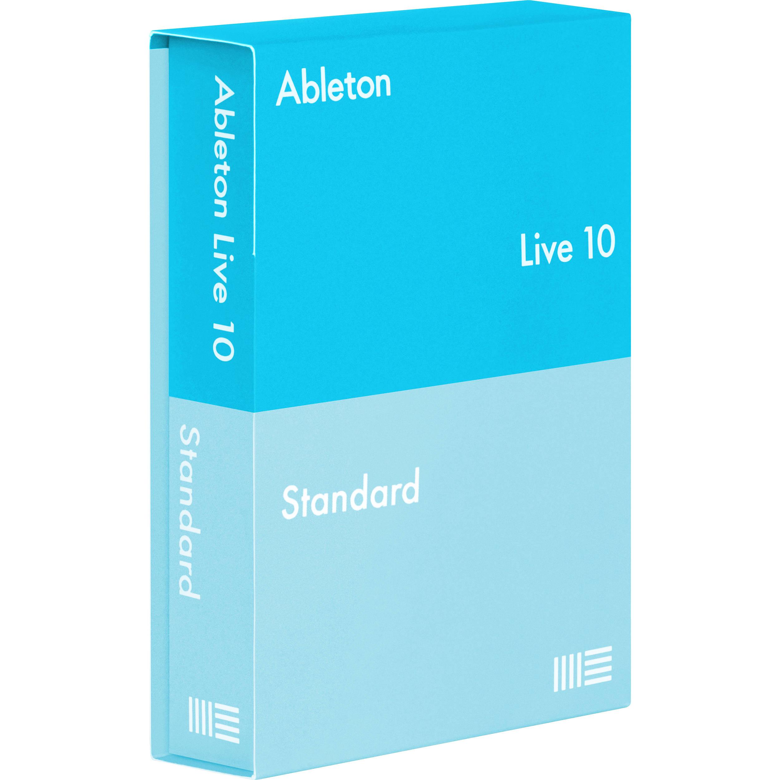 ableton live 10 1 standard upgrade music producti 88179 b h. Black Bedroom Furniture Sets. Home Design Ideas