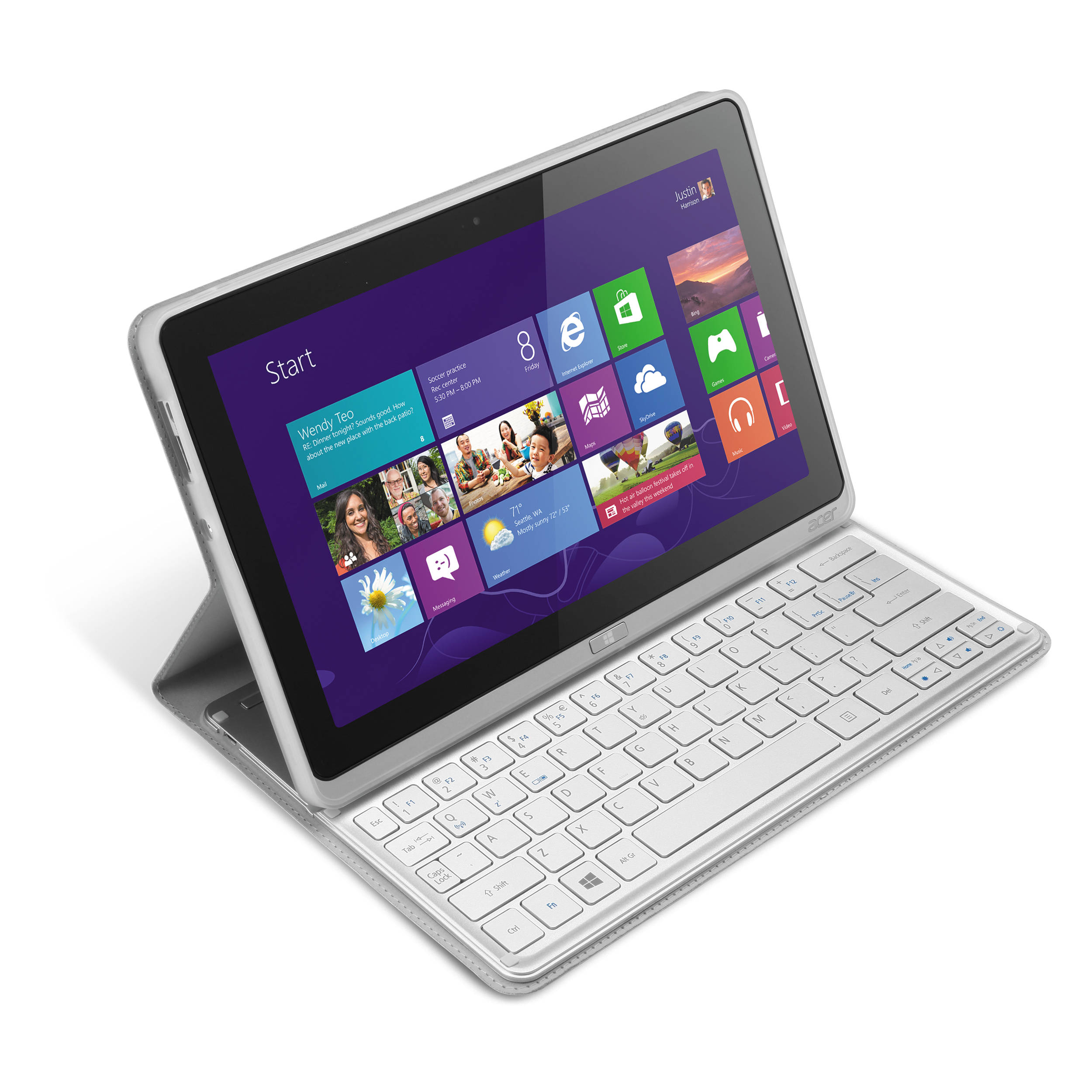 acer 128gb iconia w700 6499 11 6 tablet nt b h. Black Bedroom Furniture Sets. Home Design Ideas