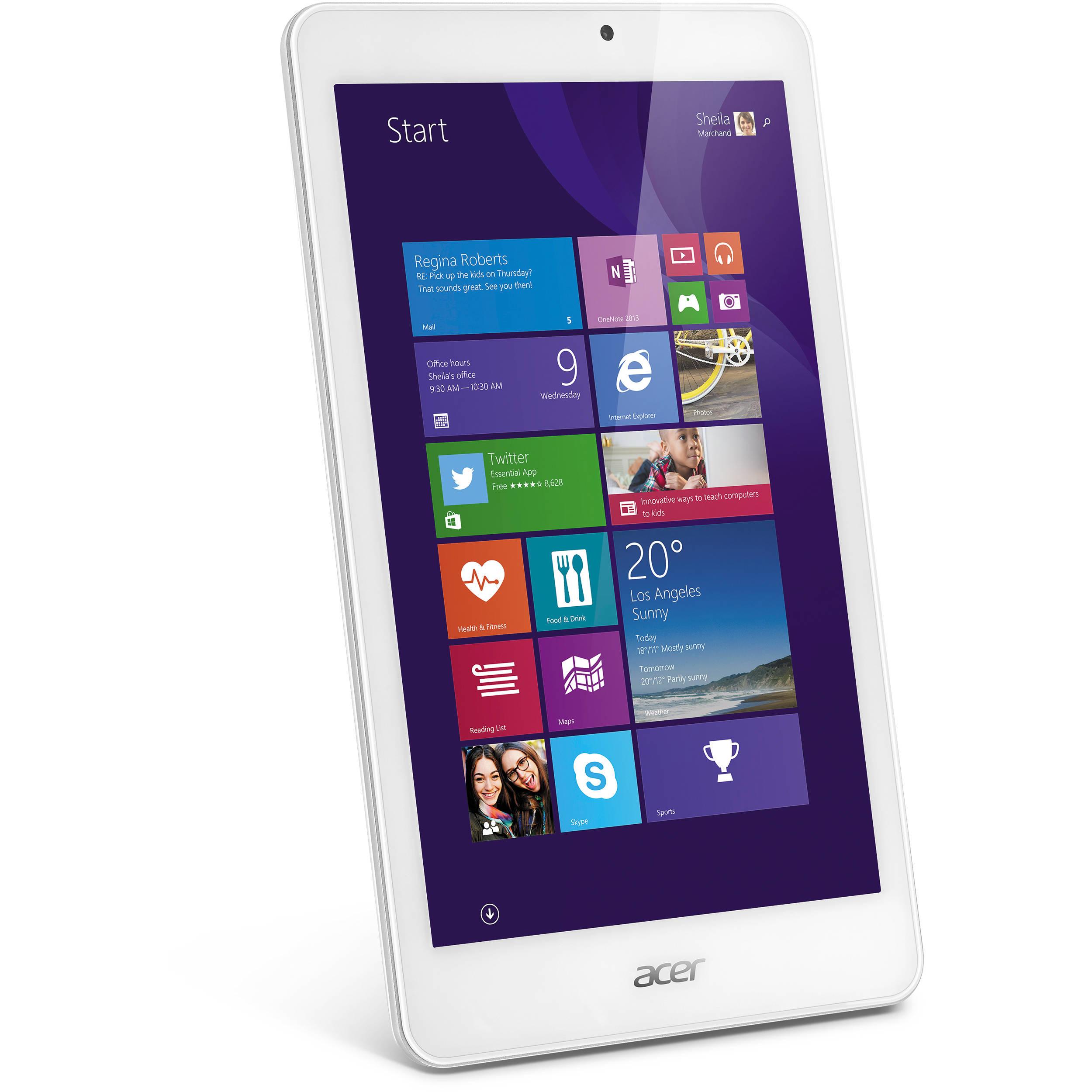"Acer 32GB Iconia Tab 8 W W1-810-1193 8.0"" Wi-Fi"