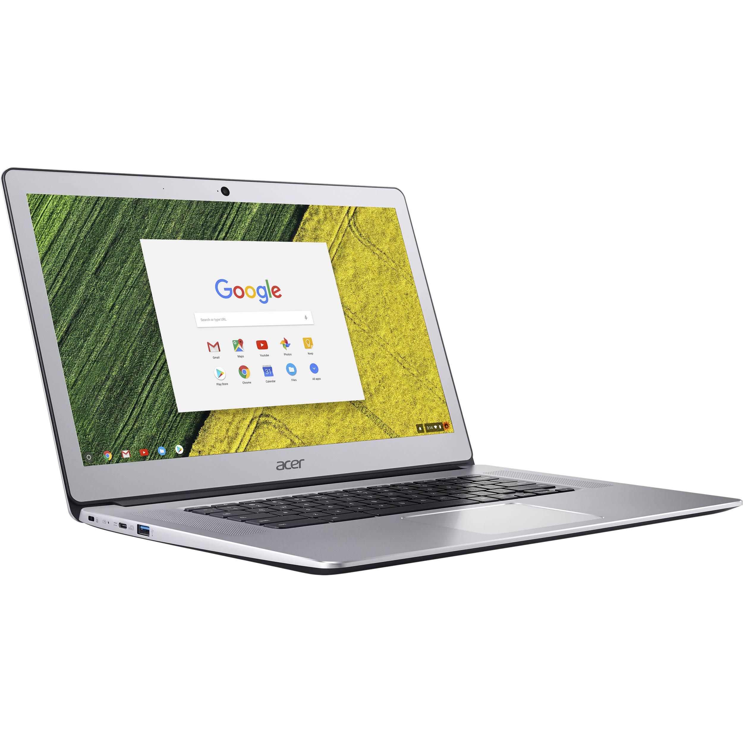 Acer 15 6 Multi Touch Chromebook 15 Nx Gp3aa 002 B H Photo