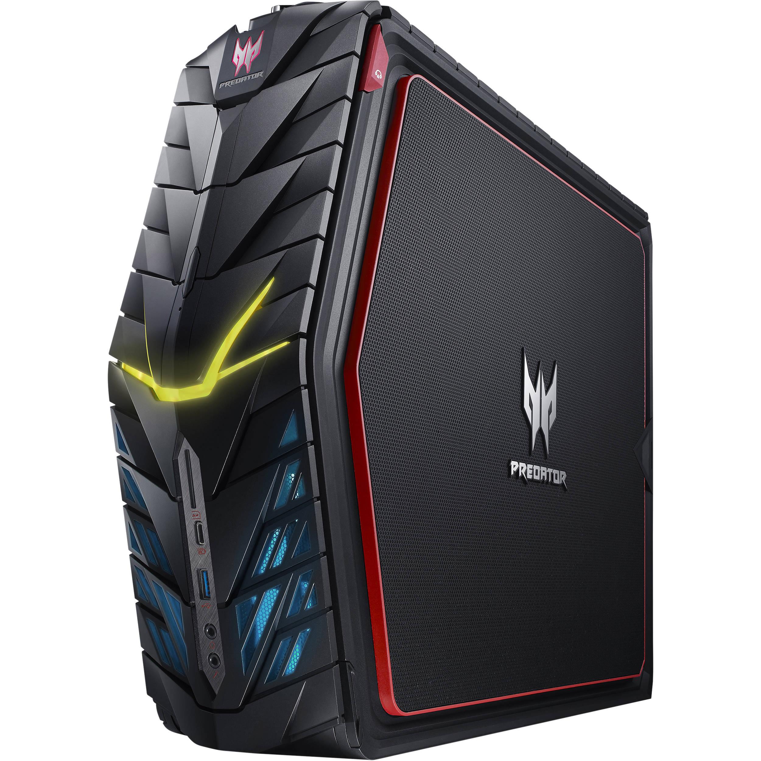 Acer Predator G1 Compact Desktop Computer Ud P01aa 570 B Amp H
