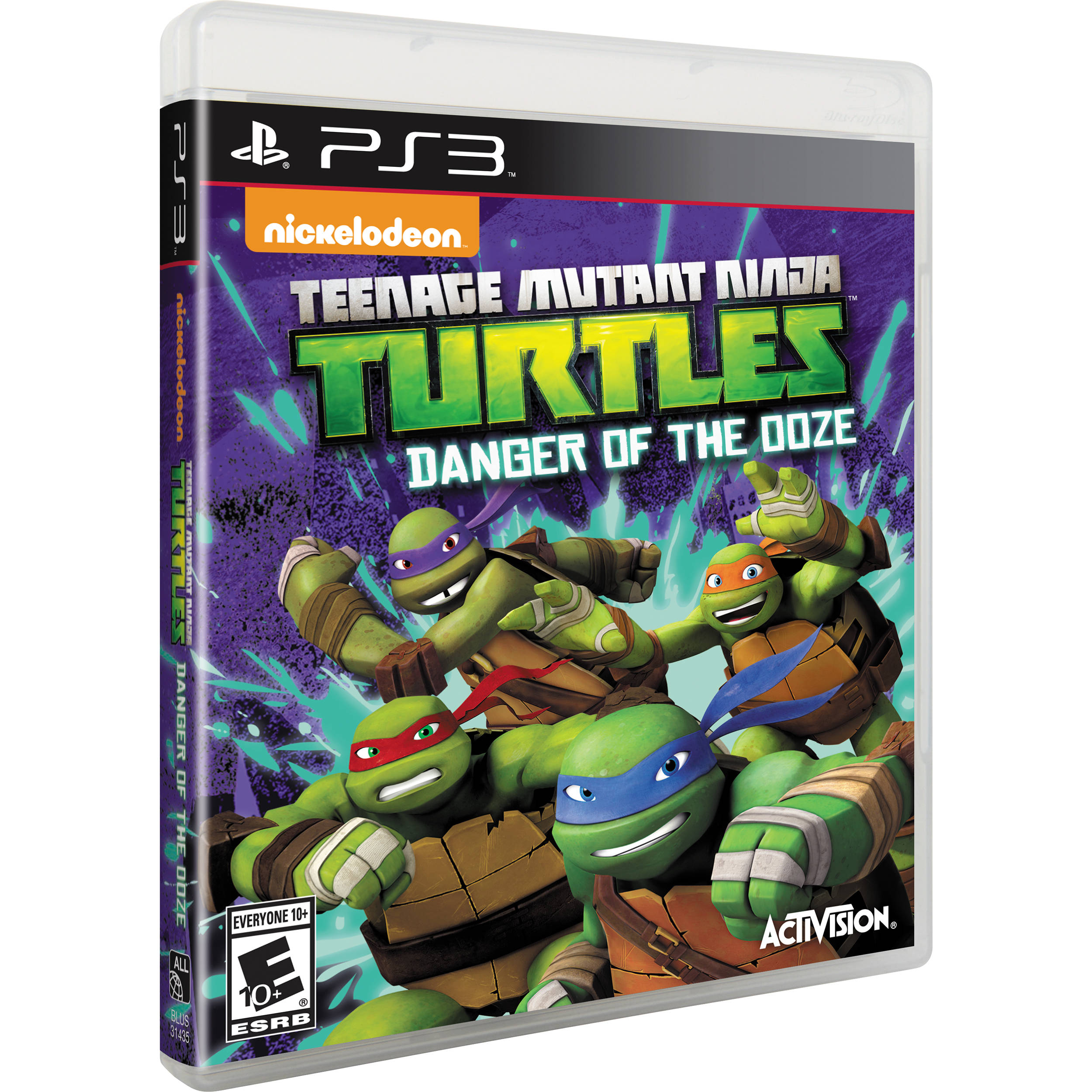 Kết quả hình ảnh cho eenage Mutant Ninja Turtles - Danger of the Ooze cover ps3