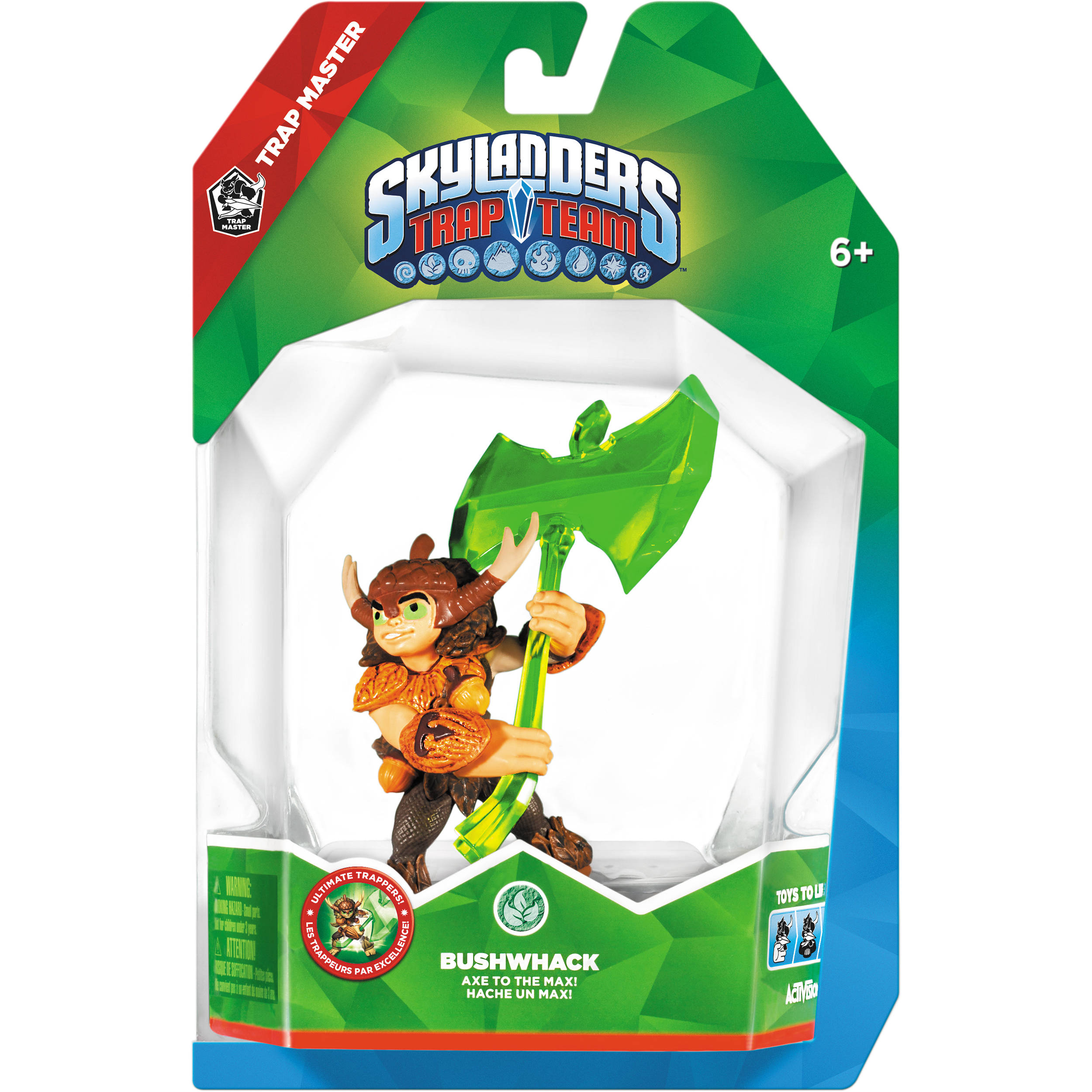 Uncategorized Skylanders Trap Team Videos activision bushwhack skylanders trap team figure 87164 bh photo master series