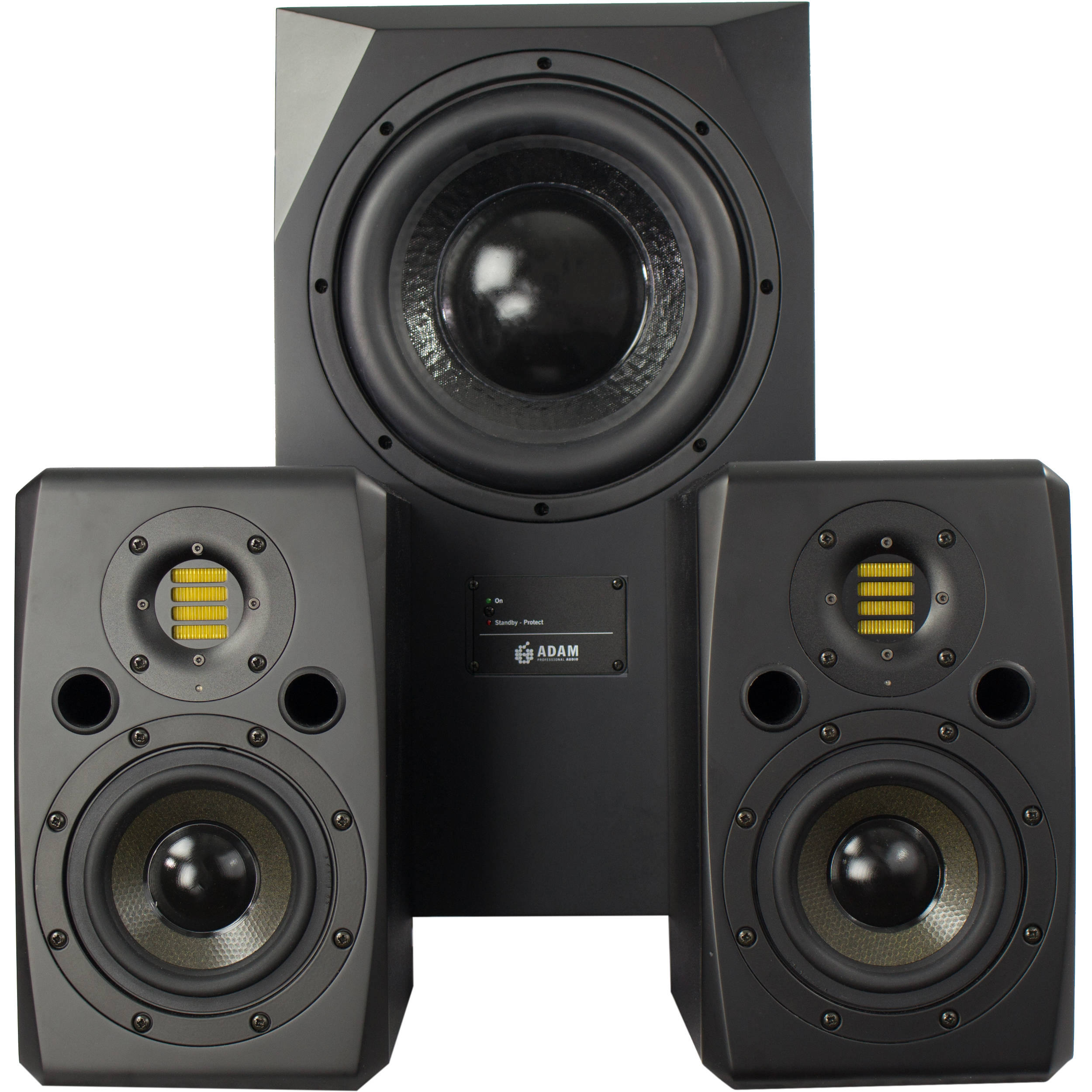 Adam Professional Audio The George Matched 21 Bh Circuitgreen Actual Circuit Red Linkwitzriley Crossover Speaker System