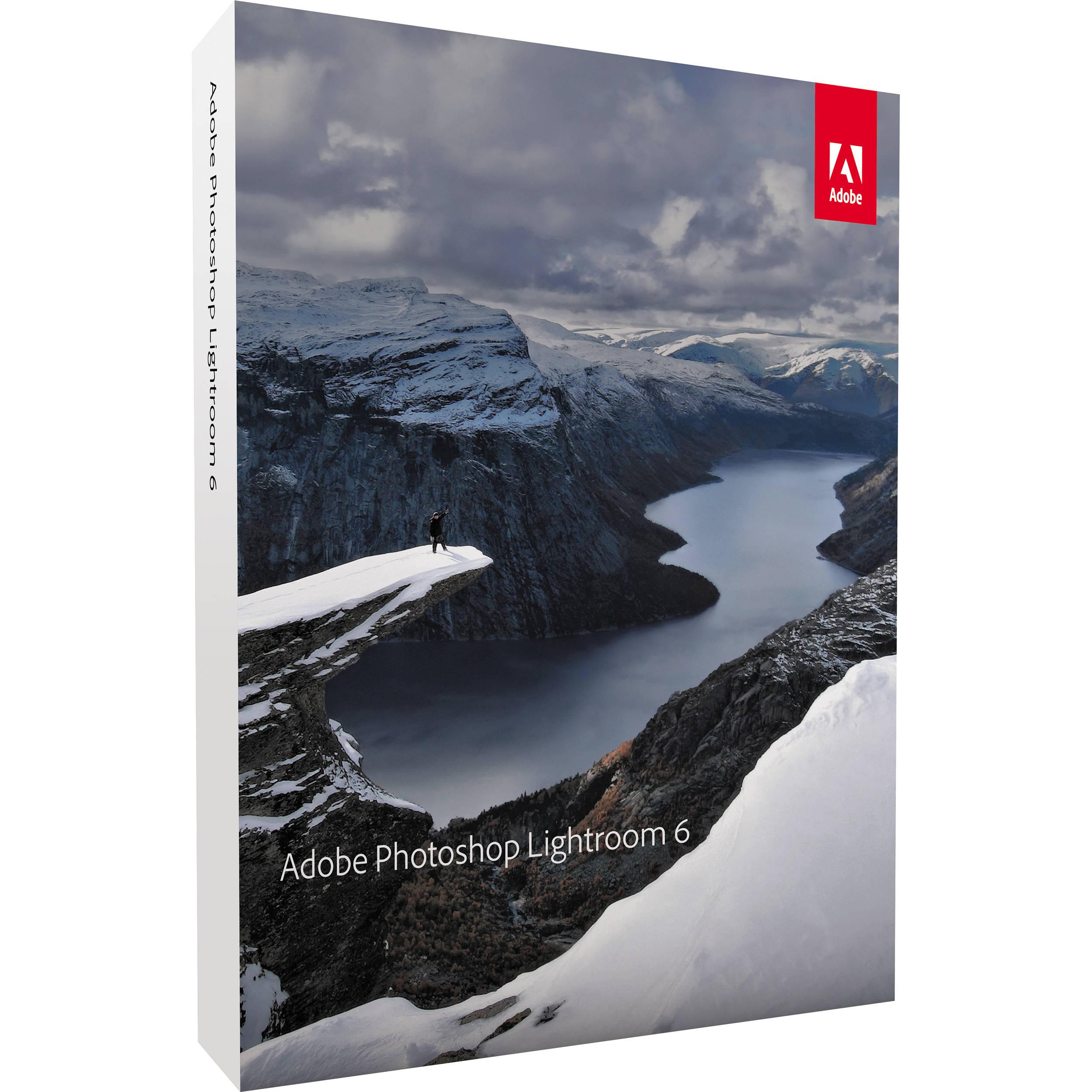Adobe Photoshop Lightroom 6 (DVD) 65237578 B&H Photo Video