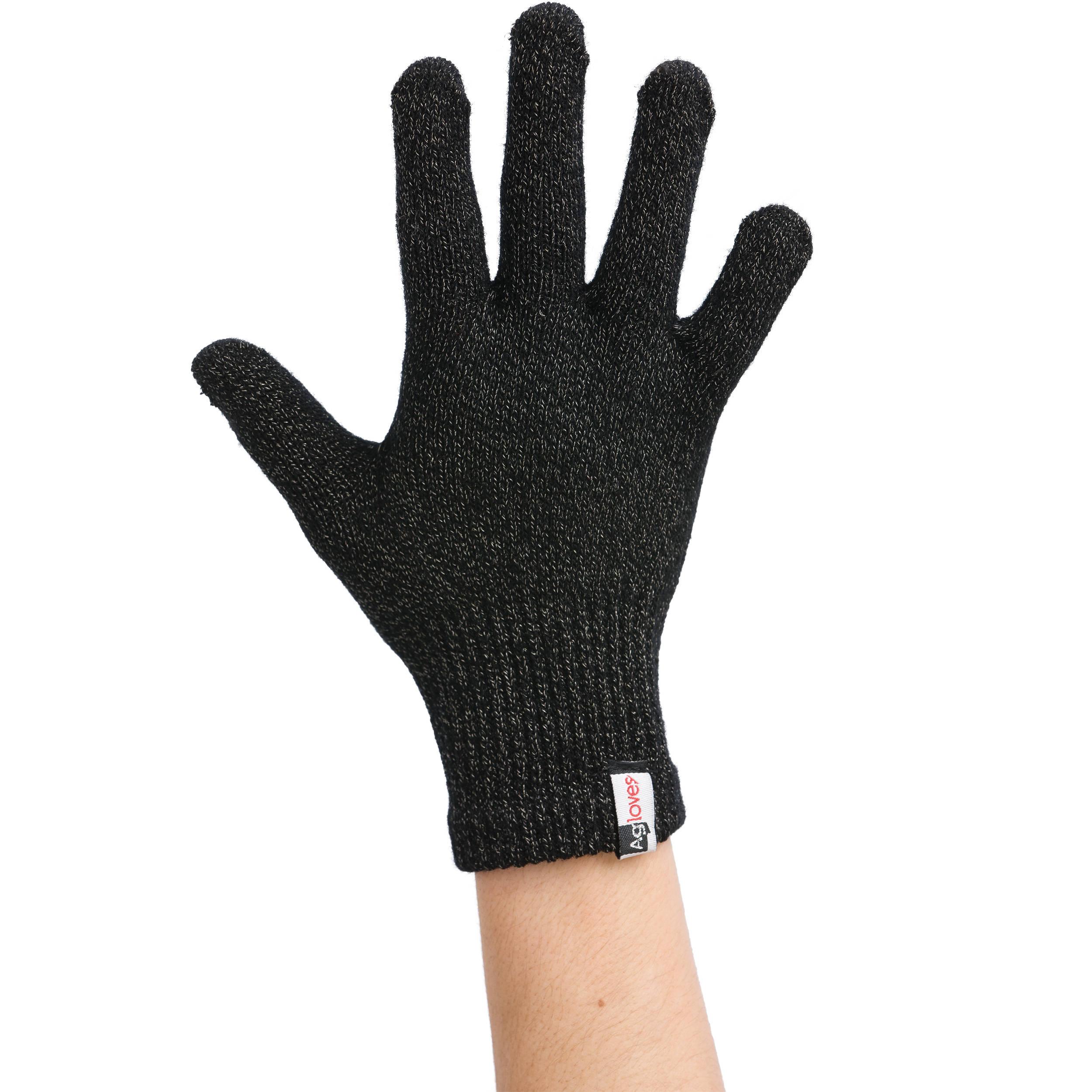 Agloves Sport Touchscreen Gloves: Agloves Sport Touchscreen Gloves (Small/Medium,Black
