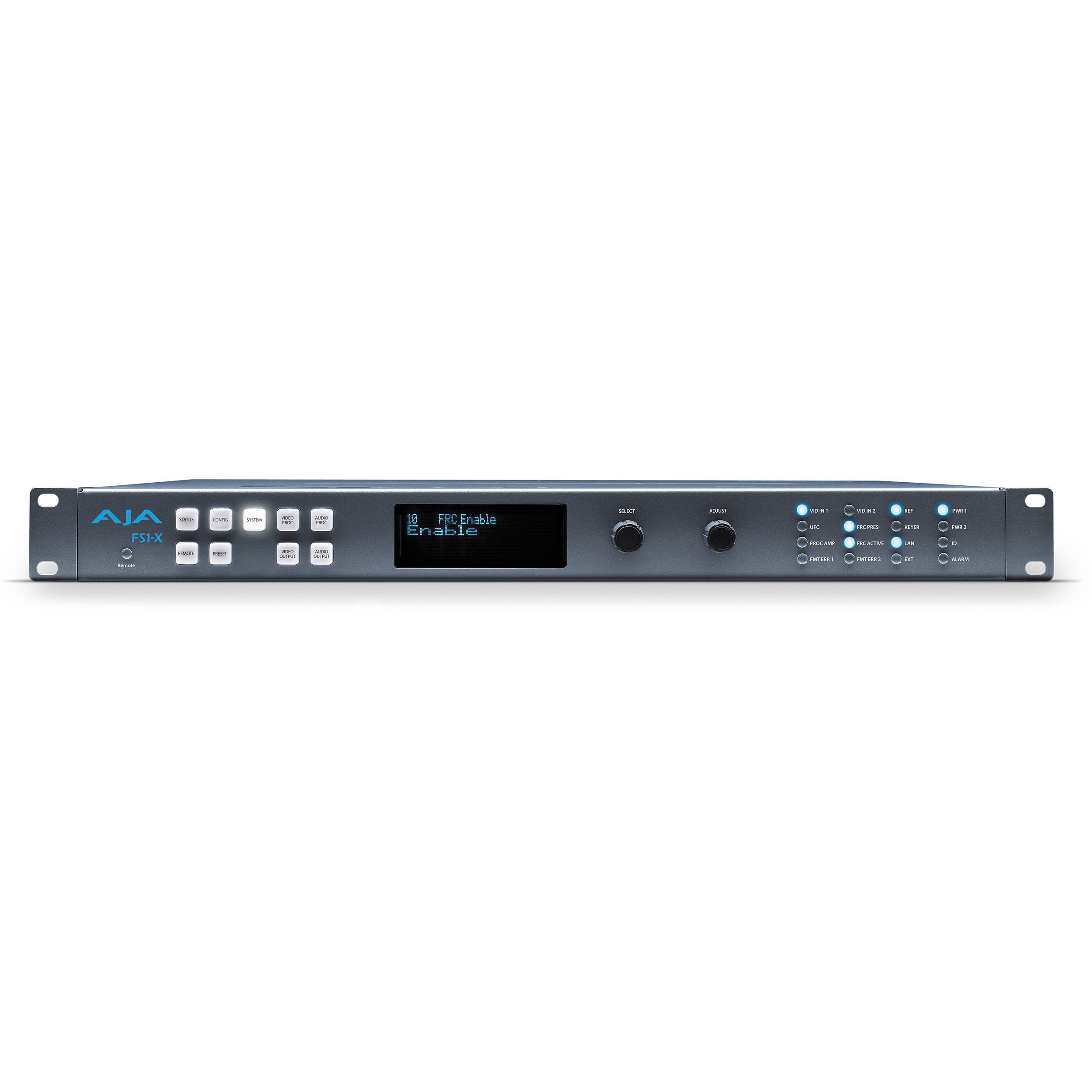 AJA FS1-X Frame Synchronizer & Converter FS1-X W FRC B&H