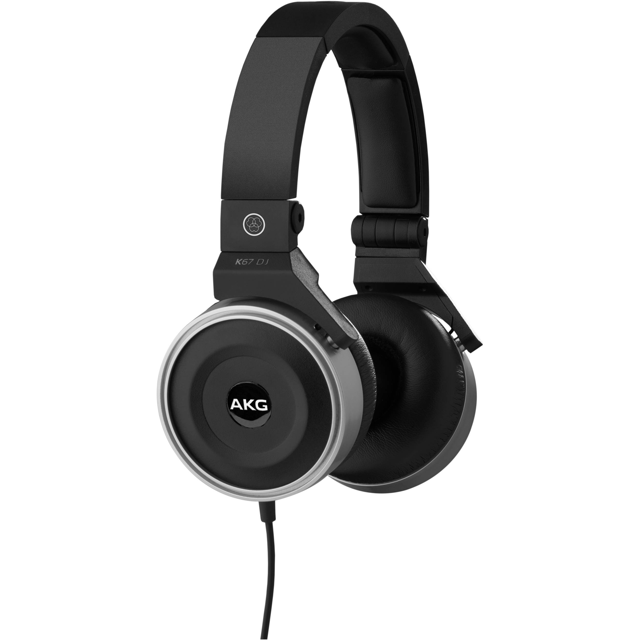 AKG K67 High-Performance DJ Headphones 3283H00020 B&H Photo