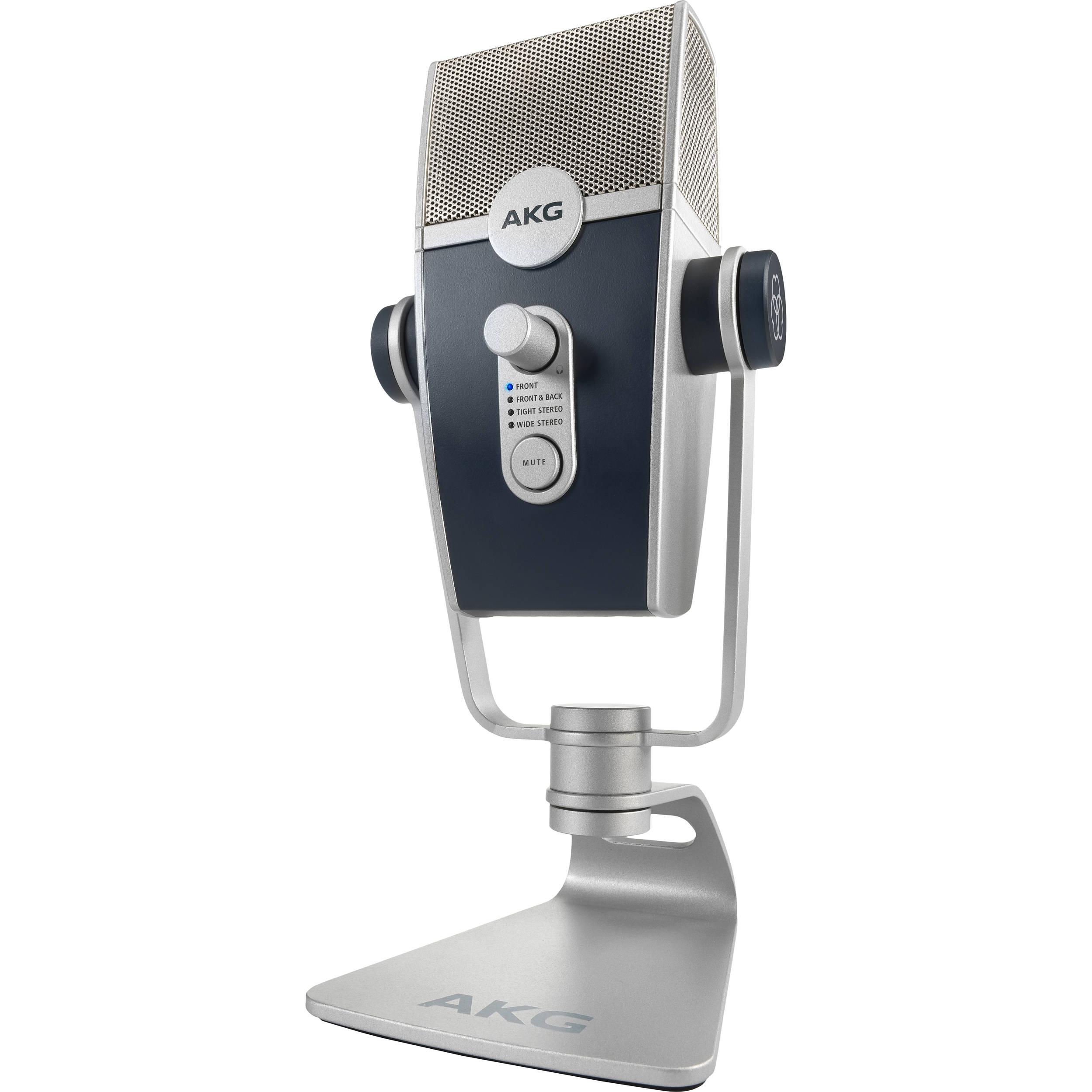 AKG Lyra Multipattern USB Condenser Microphone C44-USB B&H Photo